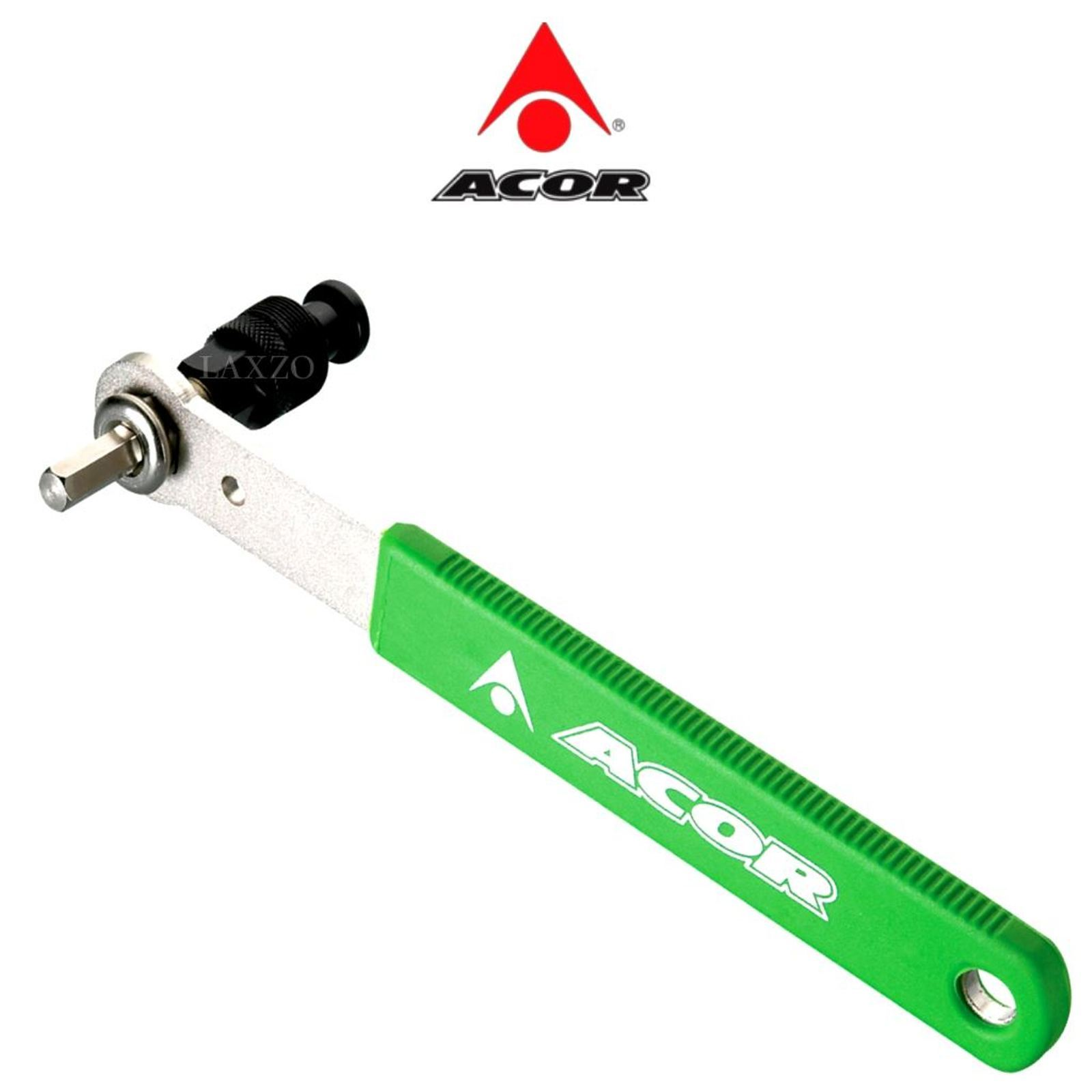 Octalink Splined Axles with 8mm Hex Key Acor Crank Remover Tool for Isis