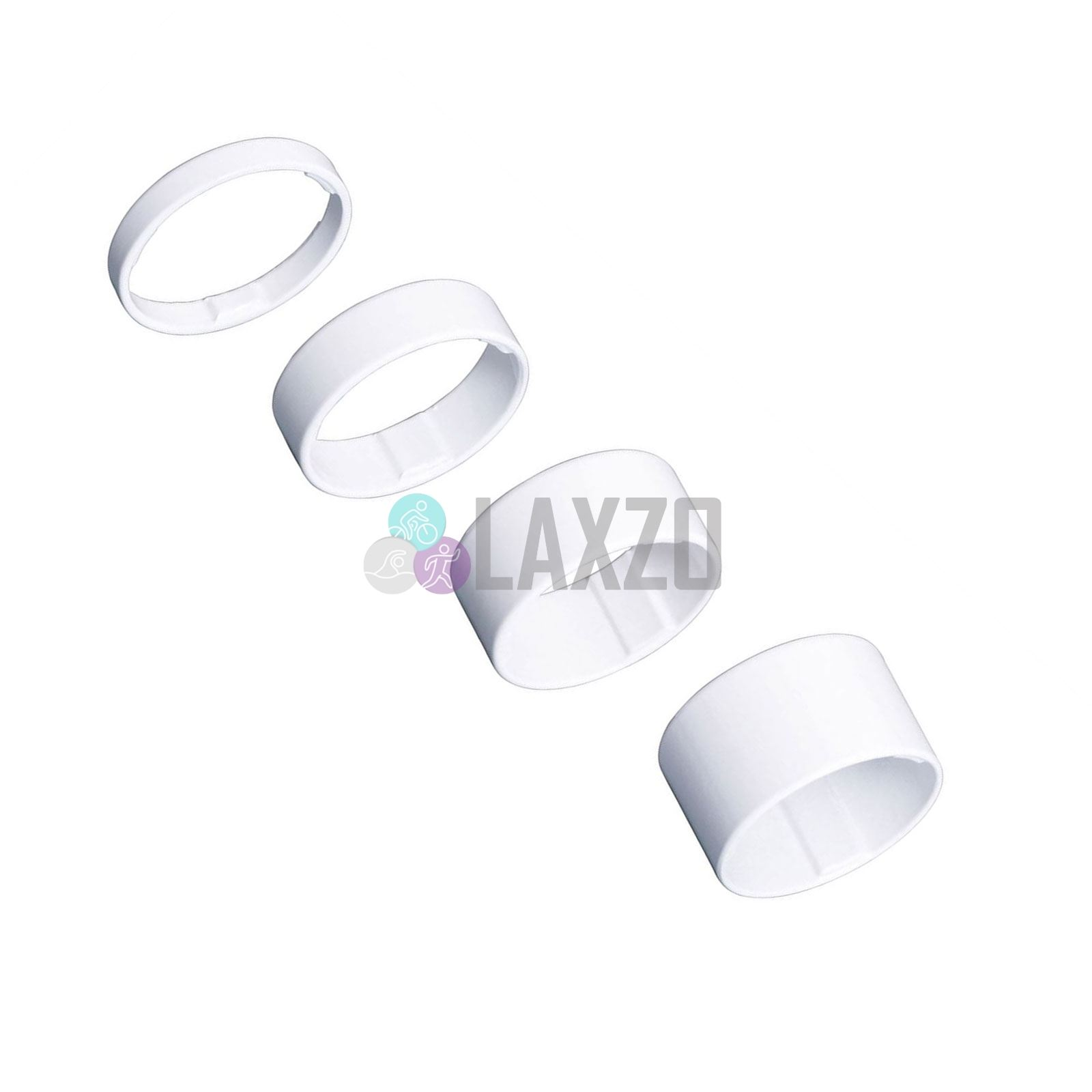 BBB Light Space Headset Spacers Ultra Light Weight 1.1//8 Set of 4 White BHP-37