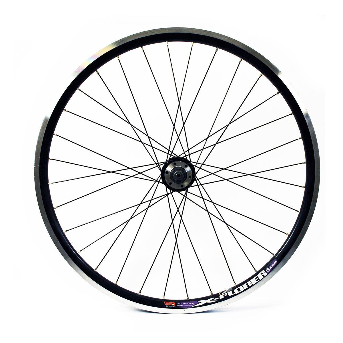 """Wilkinson MTB Front Wheel 24/"""" Silver Solid Axle"""