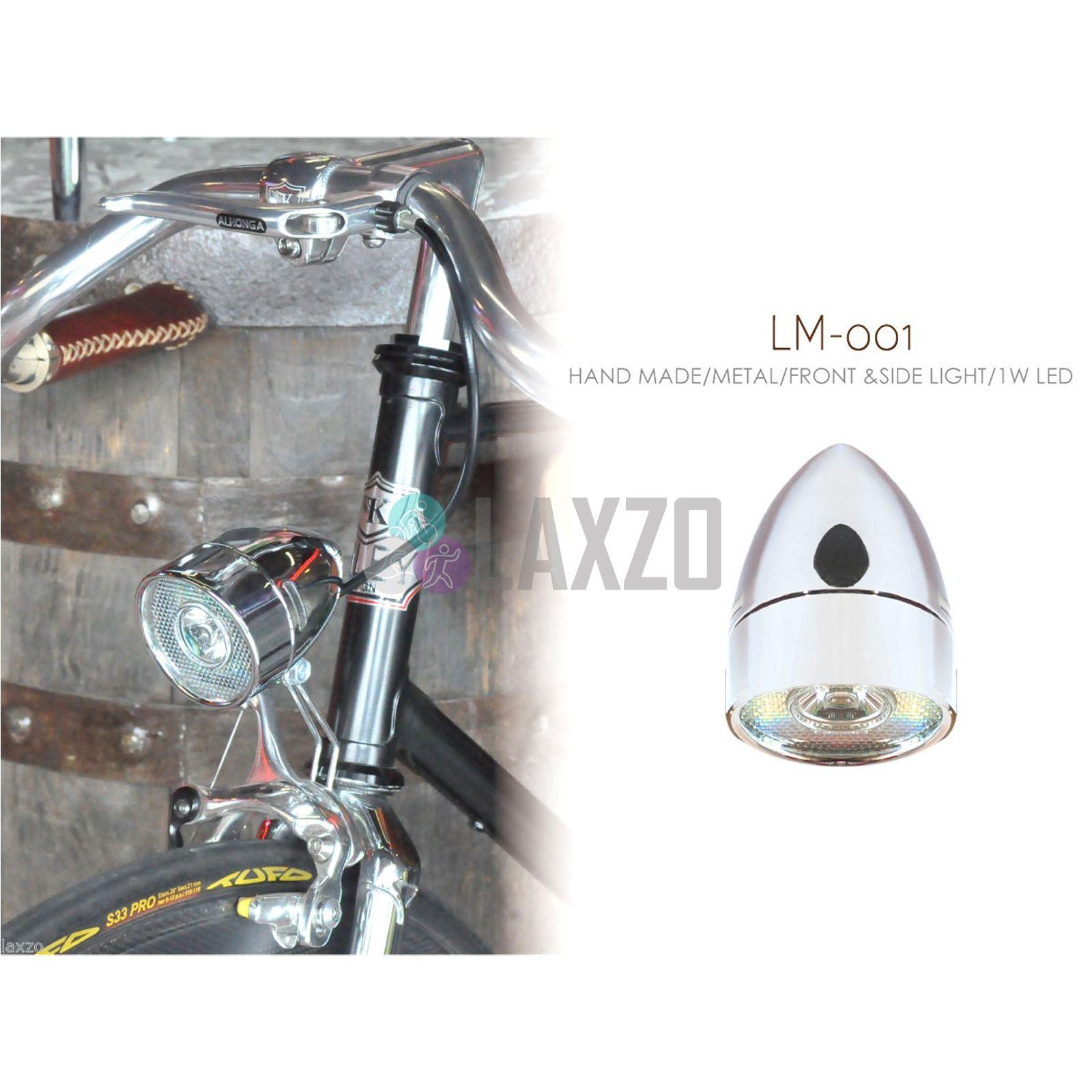 Retro Metal Head Light Classic Bike Head Light Vintage Bicycle Head Light