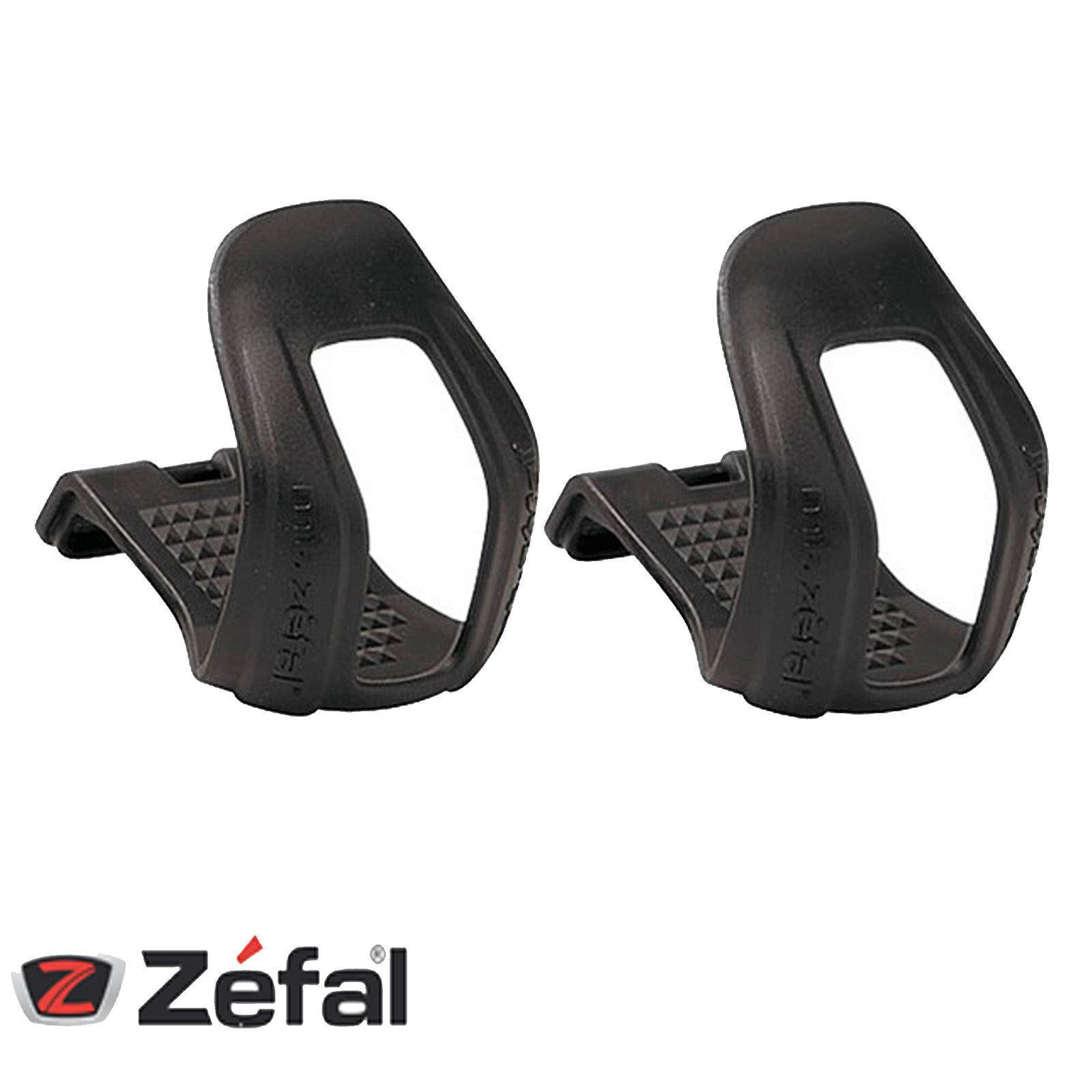 ZEFAL BIKE BICYCLE ROAD//MTB HALF MINI PEDAL TOE CLIPS