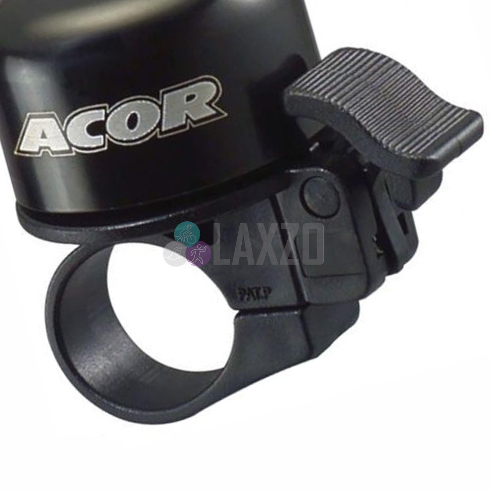 Ergonomic Lever Mini Bell for brake lever Standard Clamp Bike Cycle Green