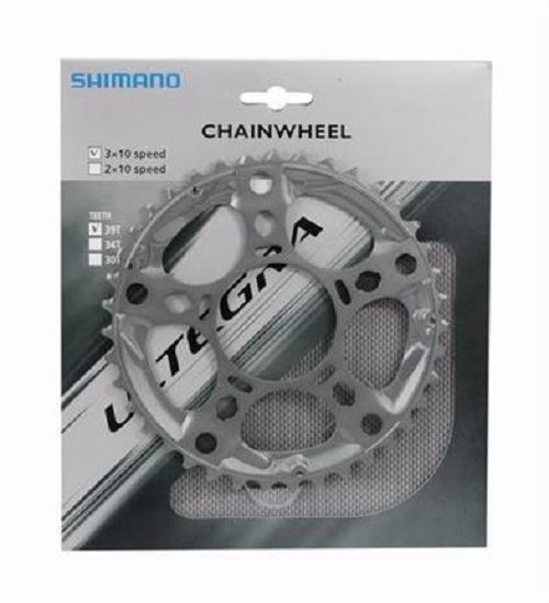 Ultegra 10-Speed Chainring 39T FC-6703 in argento