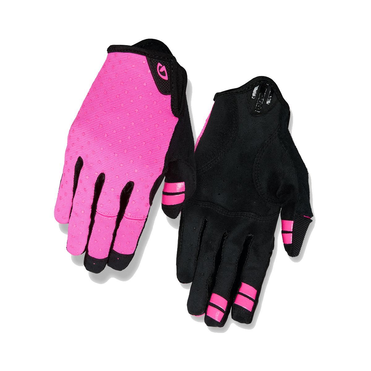 New Pair of GIRO DND Adult Full Finger Blue TEXAS Cycling Gloves Small