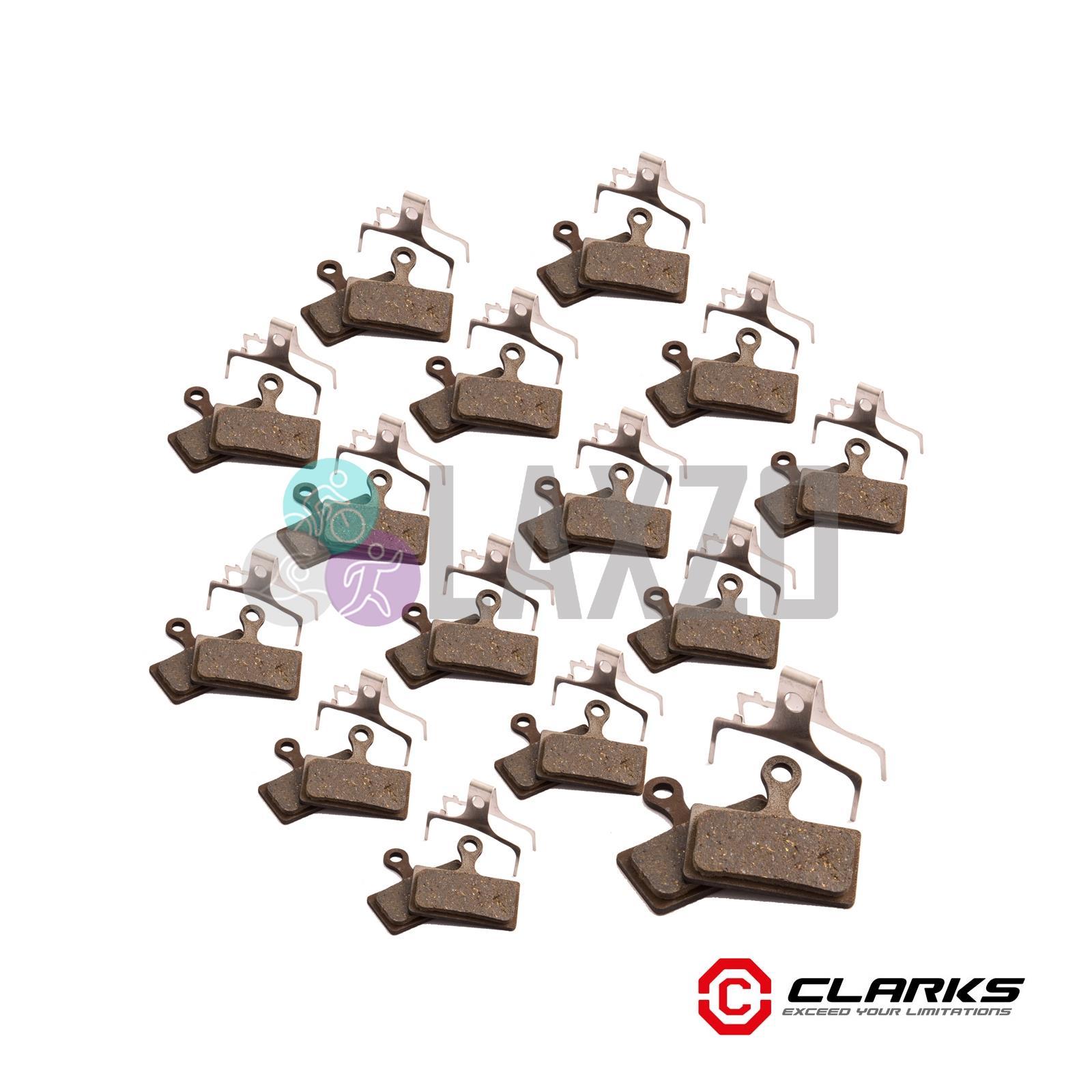 Clarks VX852C//VRX852C Clarks M1,M2 M3,Deore M615 Disc Pads Bulk//20 pair Organic