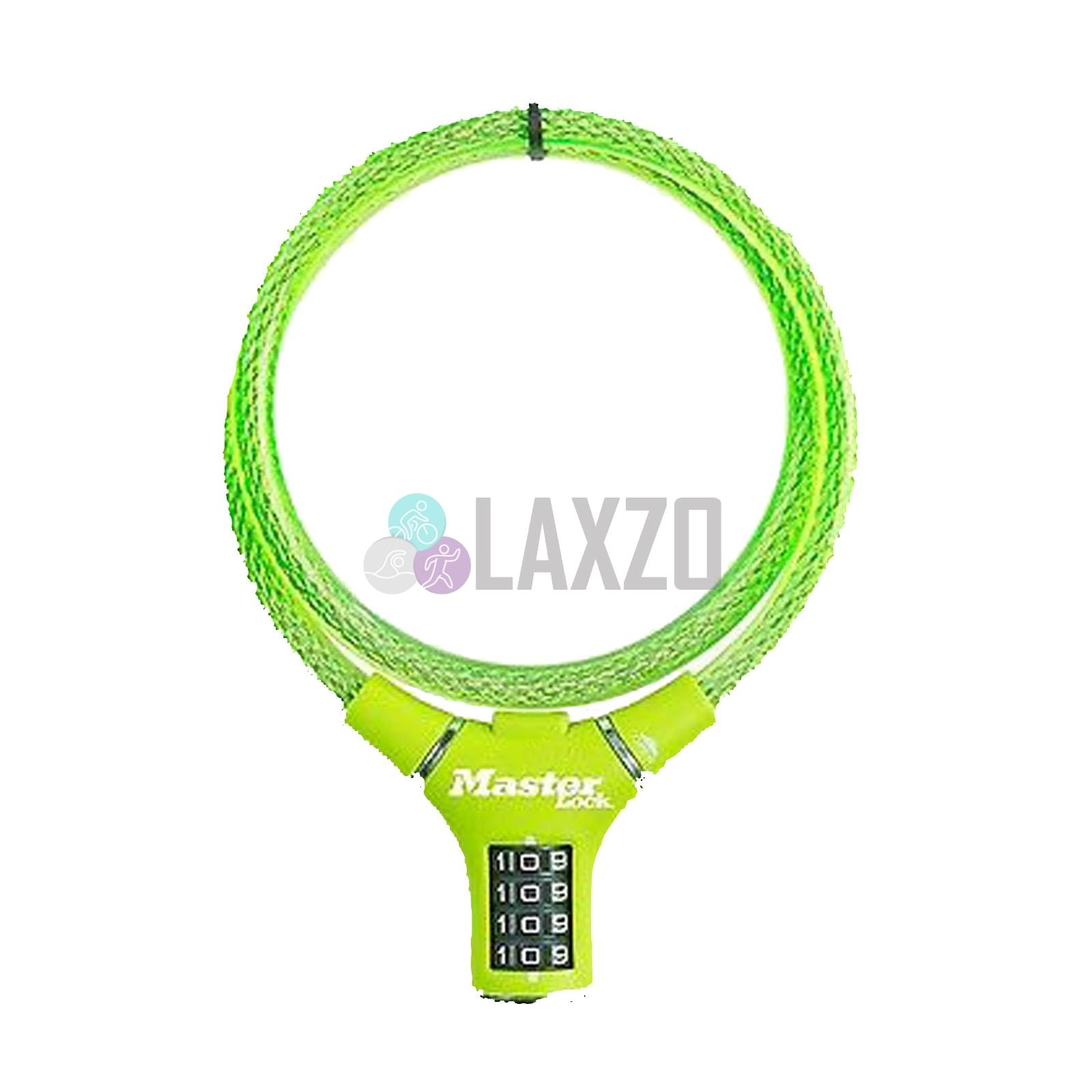 Master Lock 90cm x 12mm 4 Digit Combination Cable Bike Bicycle Lock Security