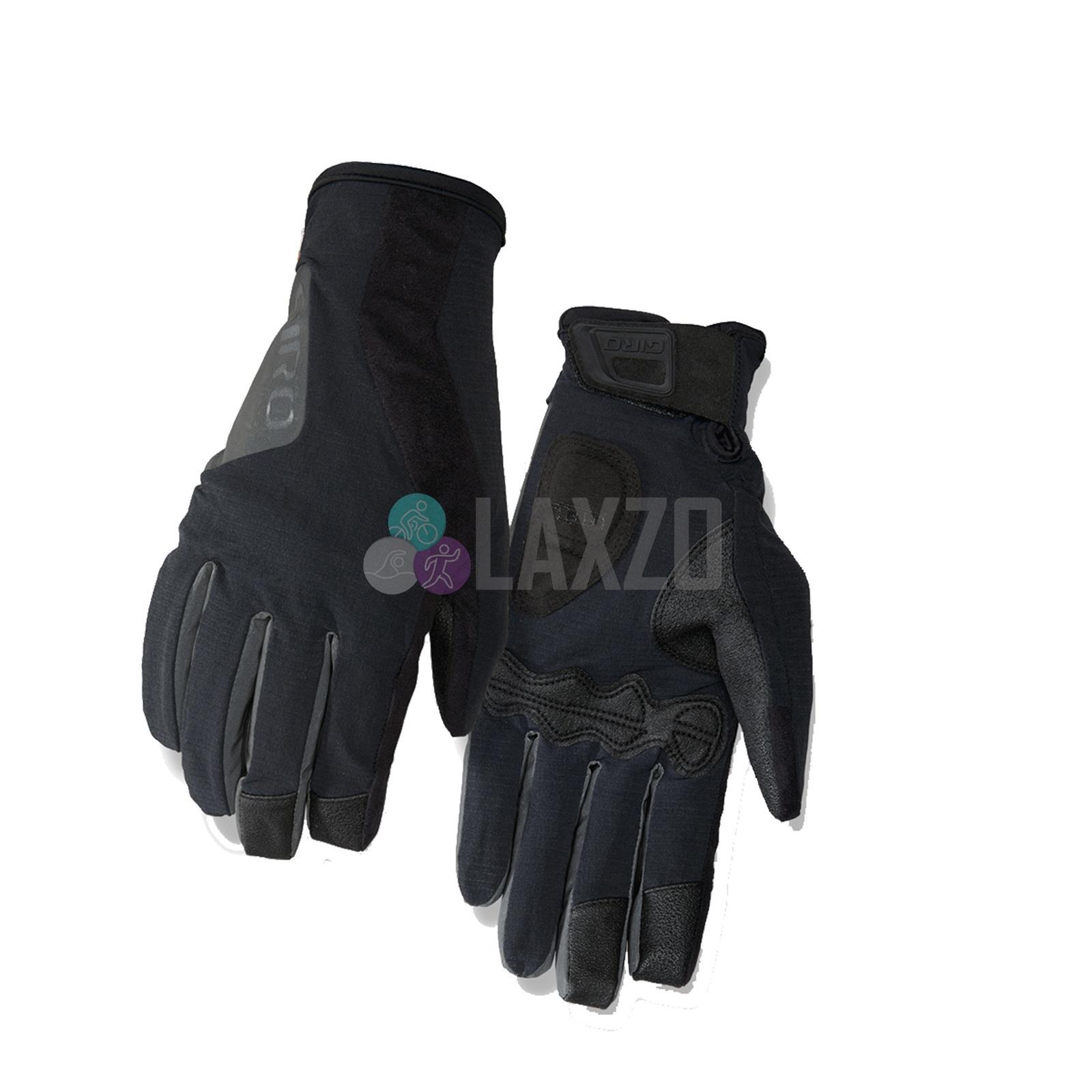New Women/'s Giro Candela Gel Winter Gloves Full Finger Cycling Large Red Orange