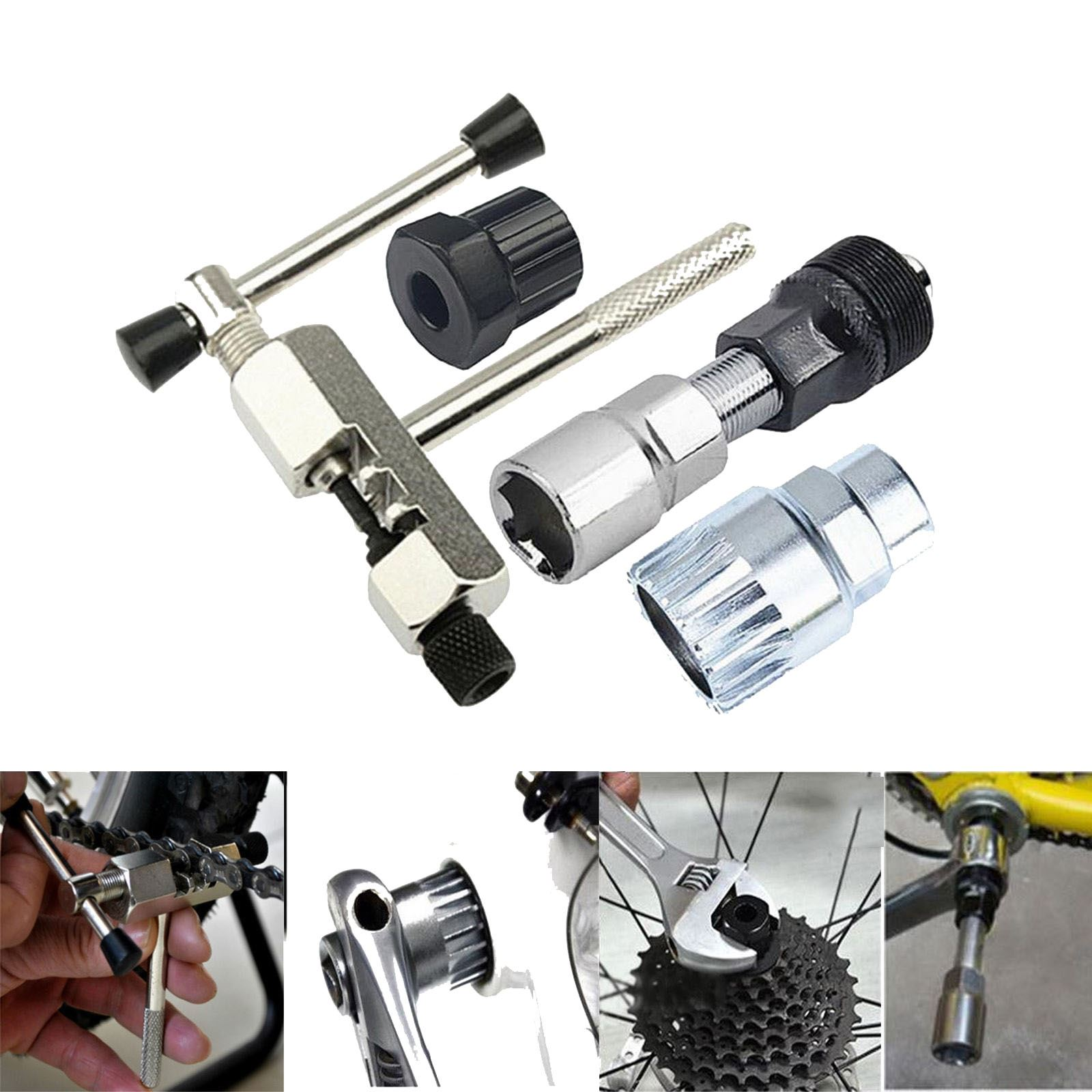 1Pc new Bike Cycling Crank Wheel Puller Pedal Remover Repair Tool Square Tapered