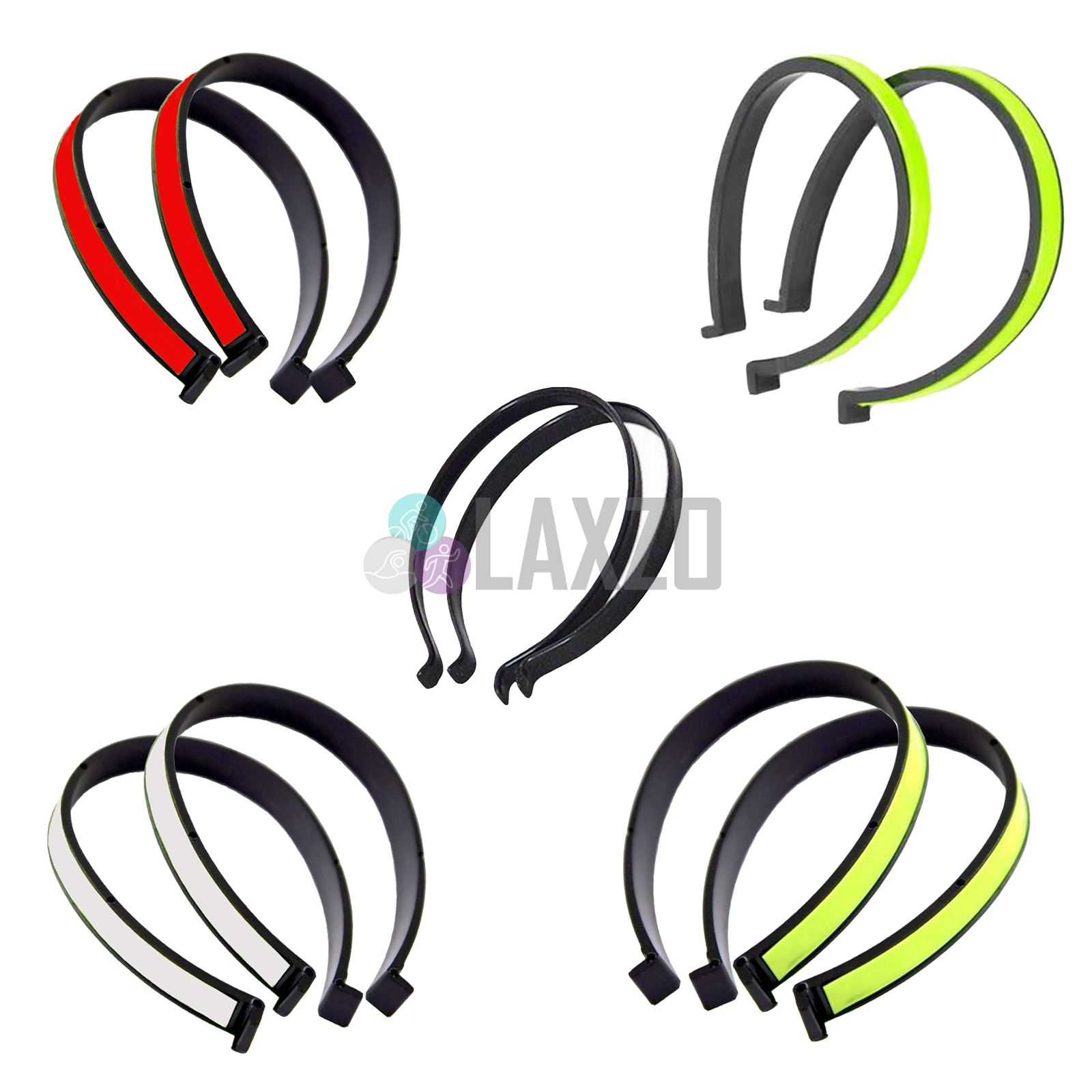 Details About Bicycle Reflective Hi Vis Cycling Trouser Clips Holder Safety 1 Pair