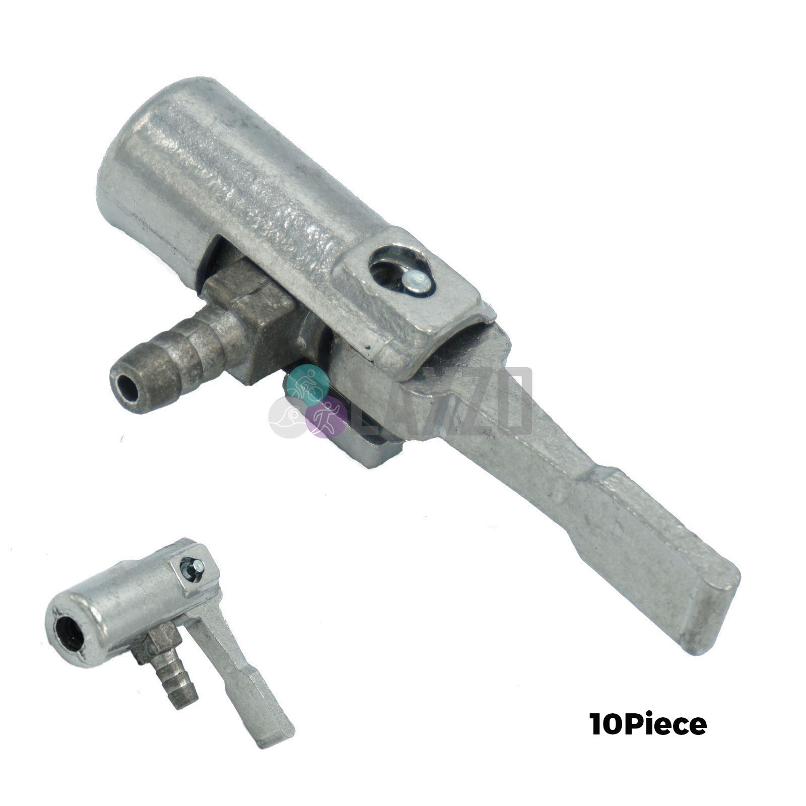 Replacement Bicycle Bike Tyre Tube Universal Valve Adaptor Head for Floor Pump