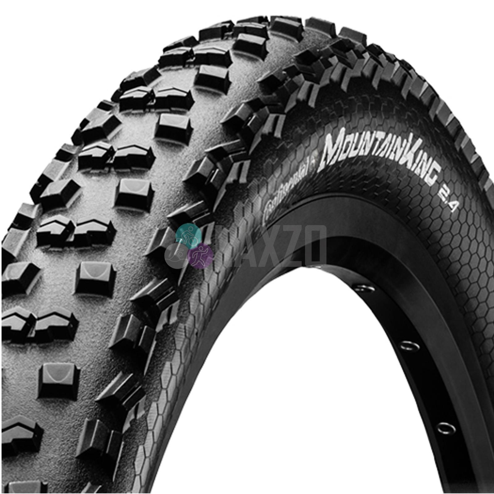 26 x 2.4 Continental Mountain King II XC MTB Tyre Rigid
