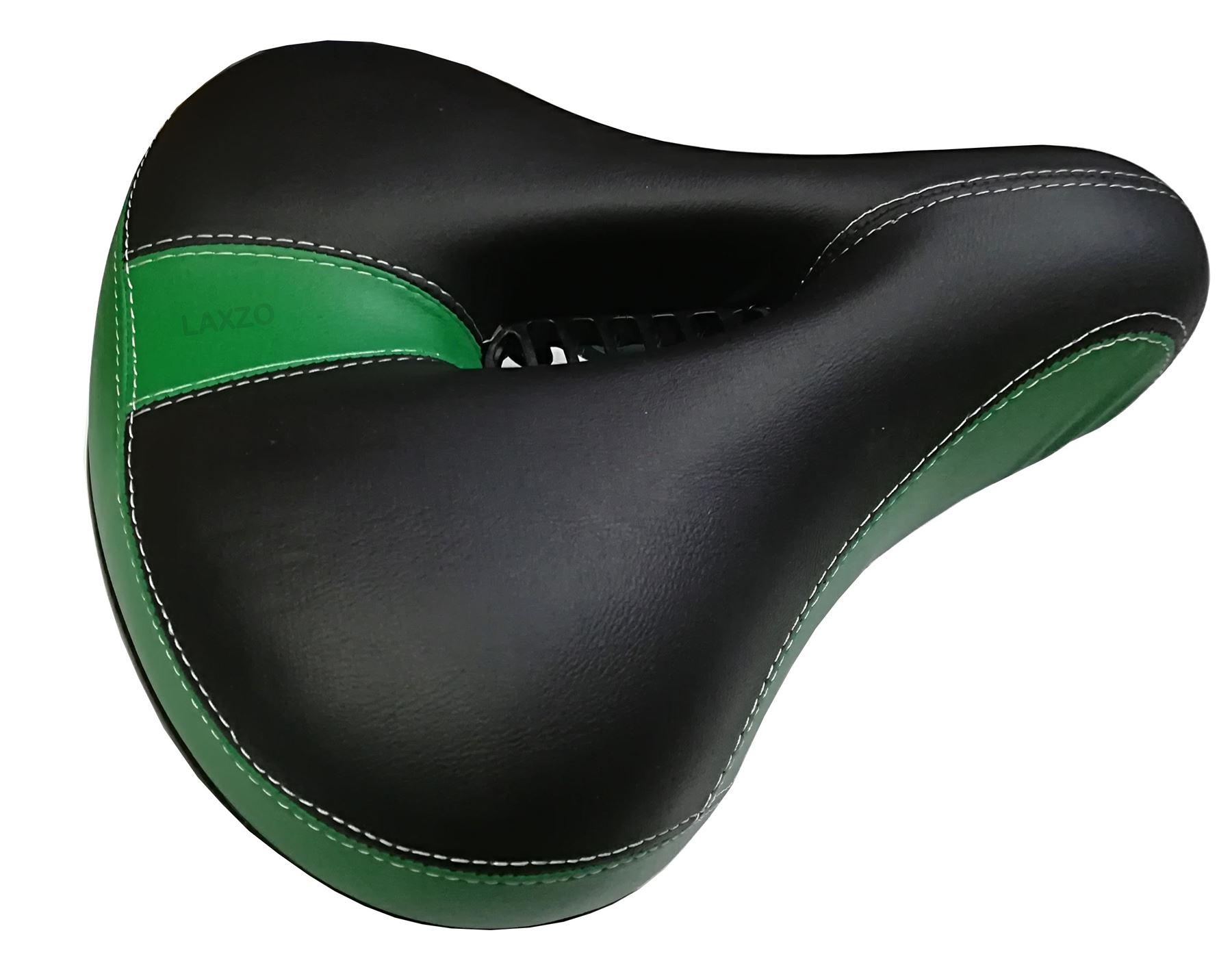 Dual-spring Bike Bicycle Cushion Wide Big Bum Extra Comfort Saddle Seat Pad New