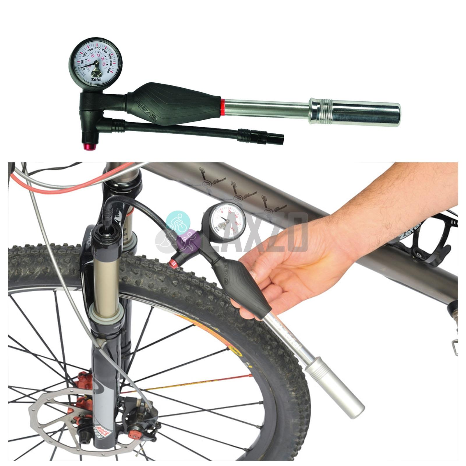 Zefal Z Shock Aluminium Mini Pump Small In Silver//Black 270mm Bicycle Bike