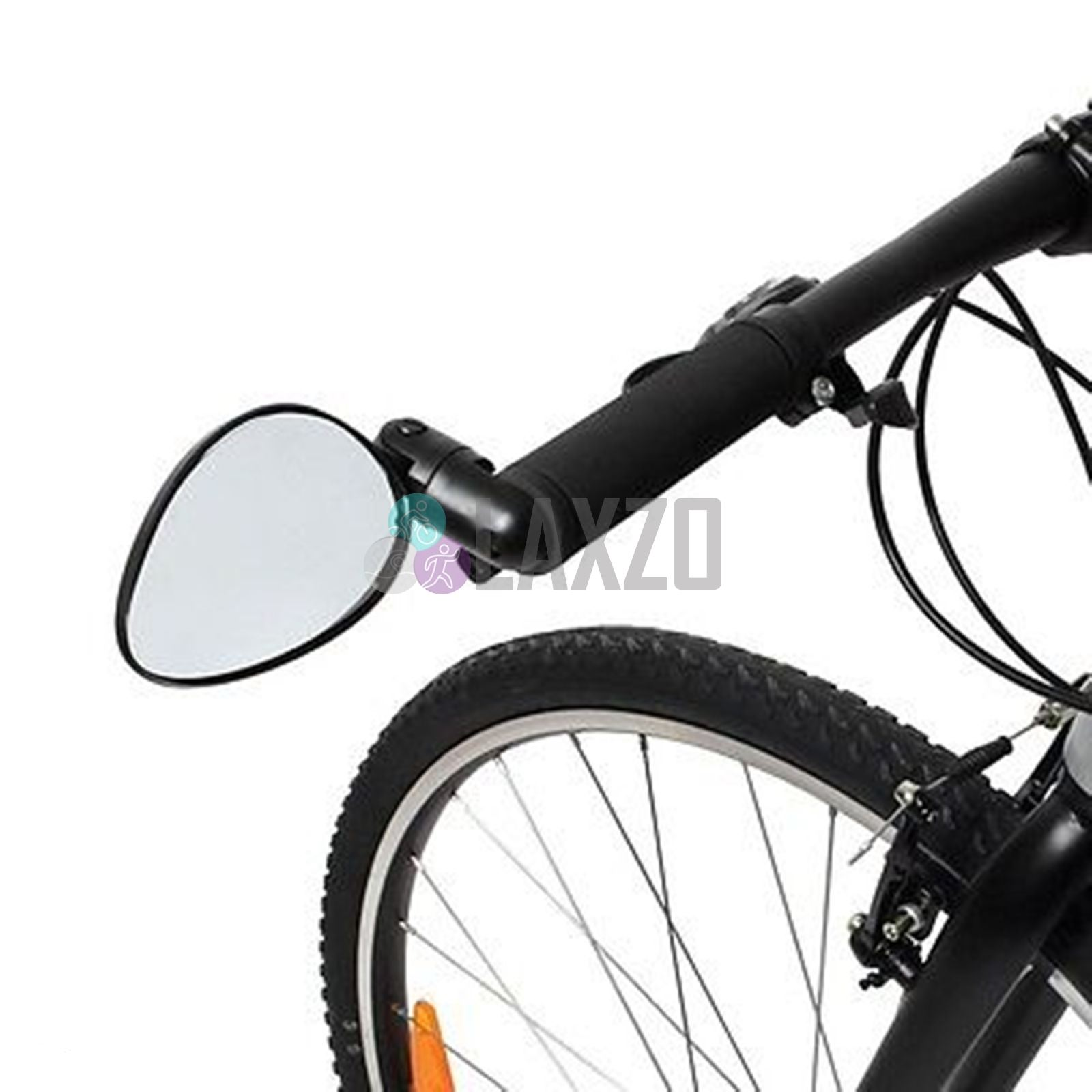 Zefal Cyclop Triple Adjustment Bar End Mounted Bike Mirror For Urban And Commute