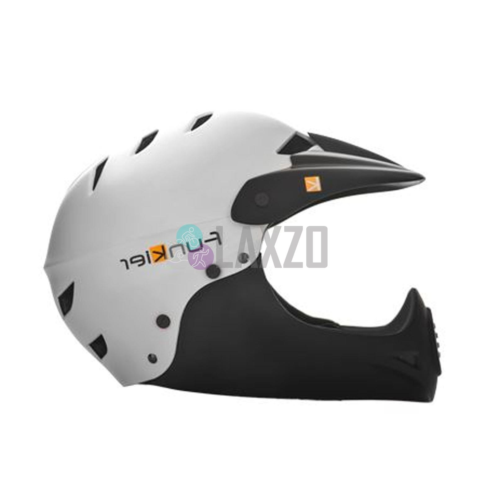 Funkier Tejat Road Elite Helmet in White//Neon