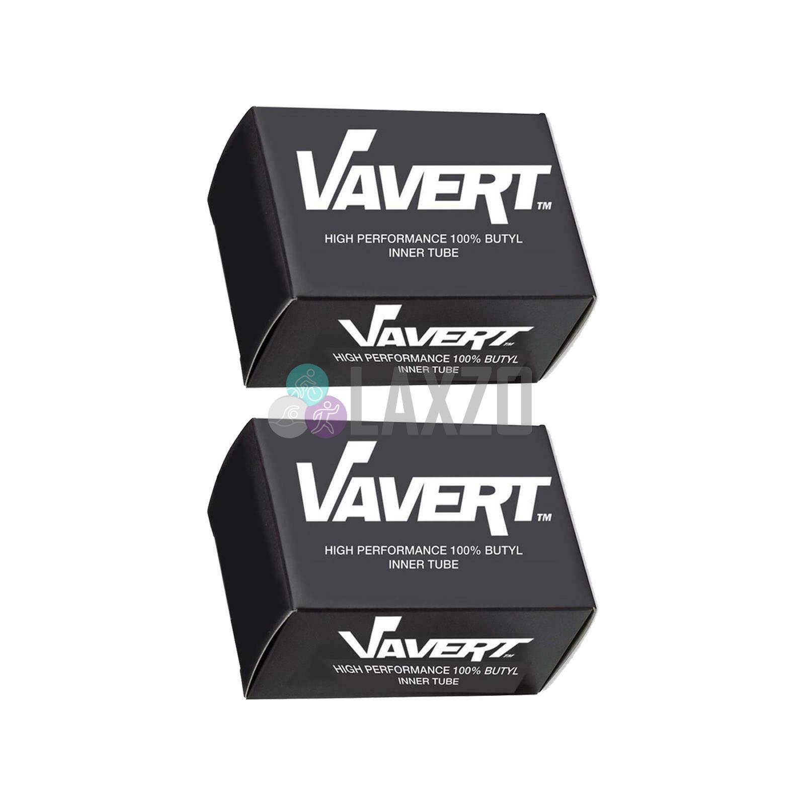 26 x 2.125-2.6 2 x Vavert Road Racing Hybrid Bike Presta 40mm Inner Tubes