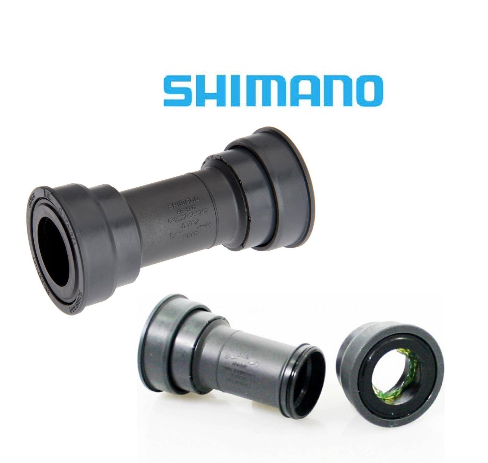 Eje de pedalier Shimano sistema press-fit gris Shimano SM-BB71-41B Road