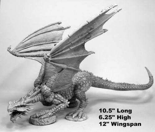 Reaper Miniatures Bones 77542 Marthrangul Dragon