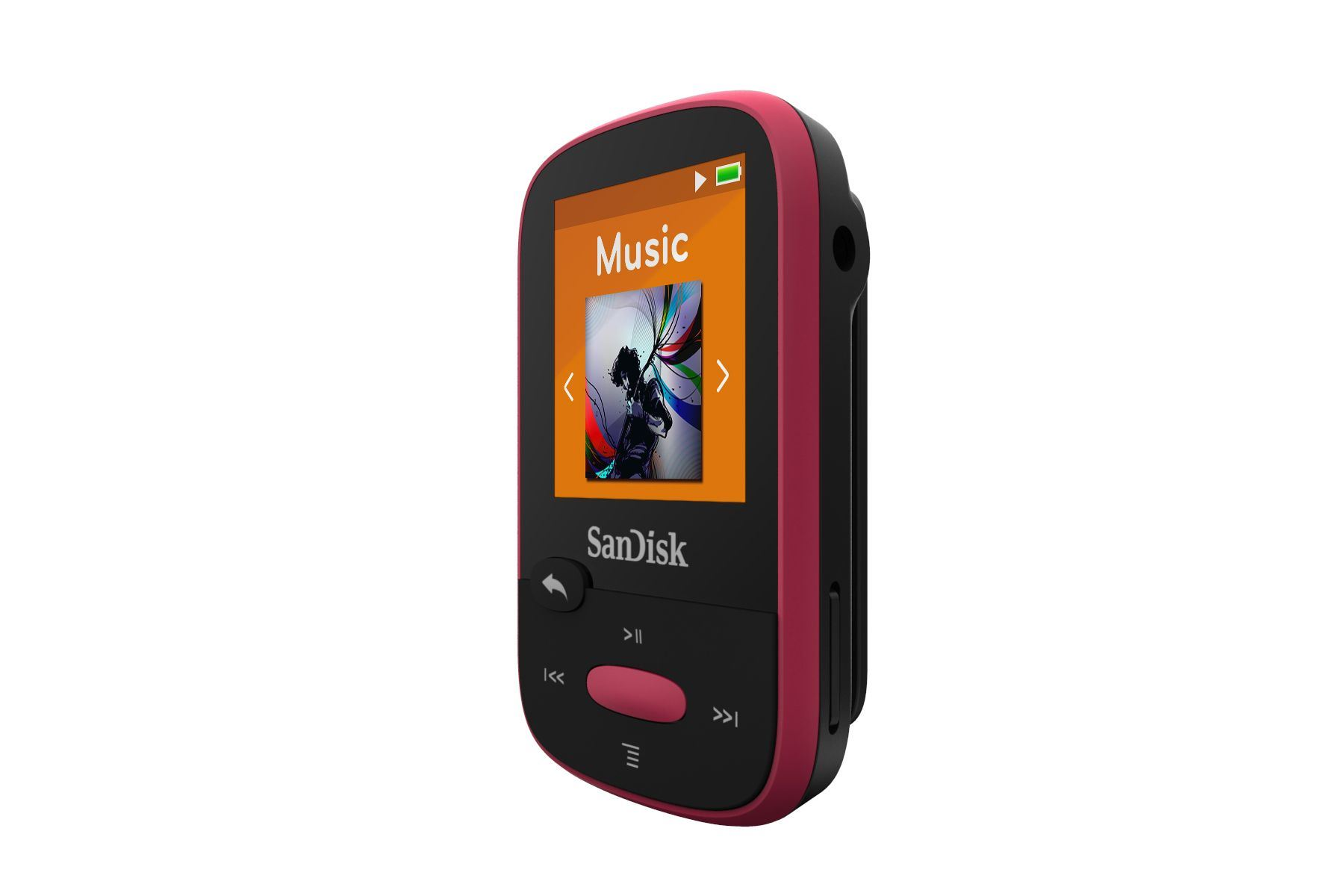 SanDisk-Clip-Sport-MP3-Player-8GB-Pink-holds-2000-songs