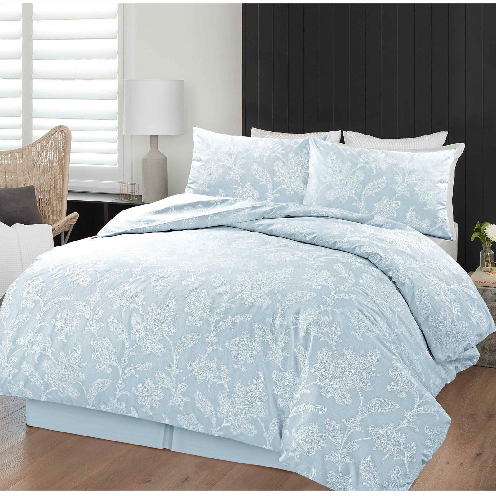 color chambray duvet cotton sets bedding modern brand home casual from solid washed online find eikei at garden style covers products cover and bedd