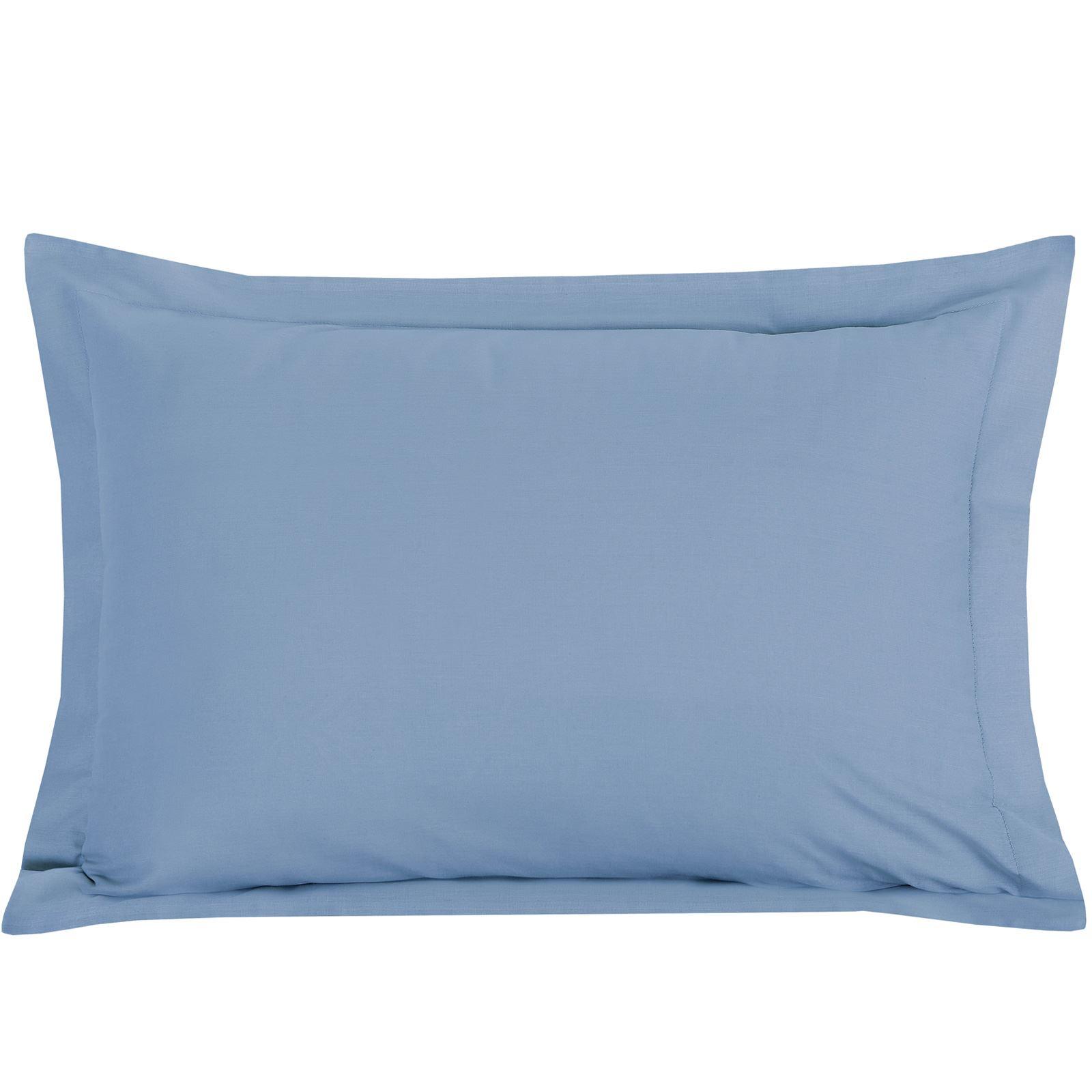Luxury-100-Egyptian-Cotton-200-Thread-Percale-Plain-Pillowcases-Pillow-Case-Pair thumbnail 5