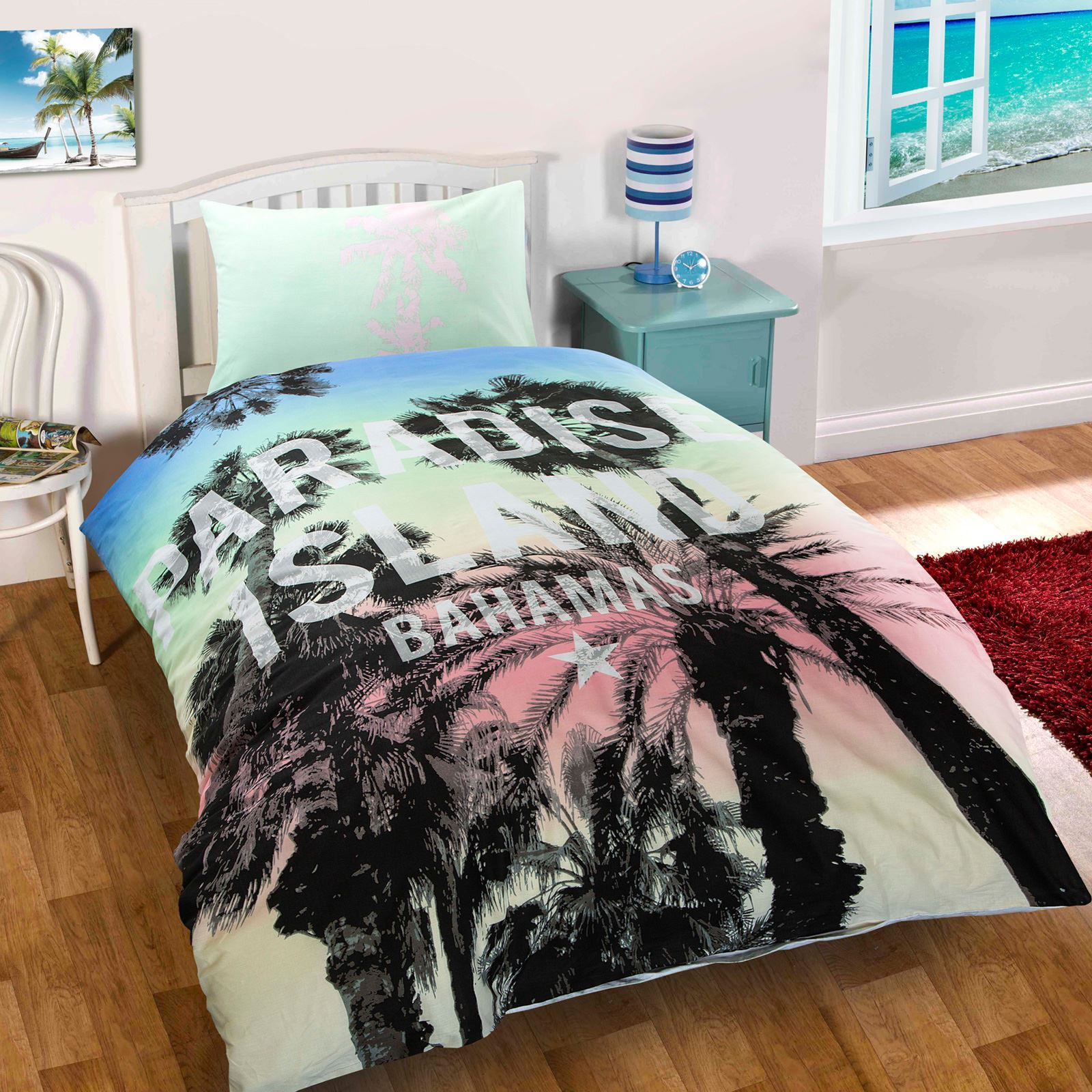 Children-Teenage-Kids-Boys-Girls-Single-Quilt-Duvet-Cover-Pillowcase-Bedding-Set thumbnail 17