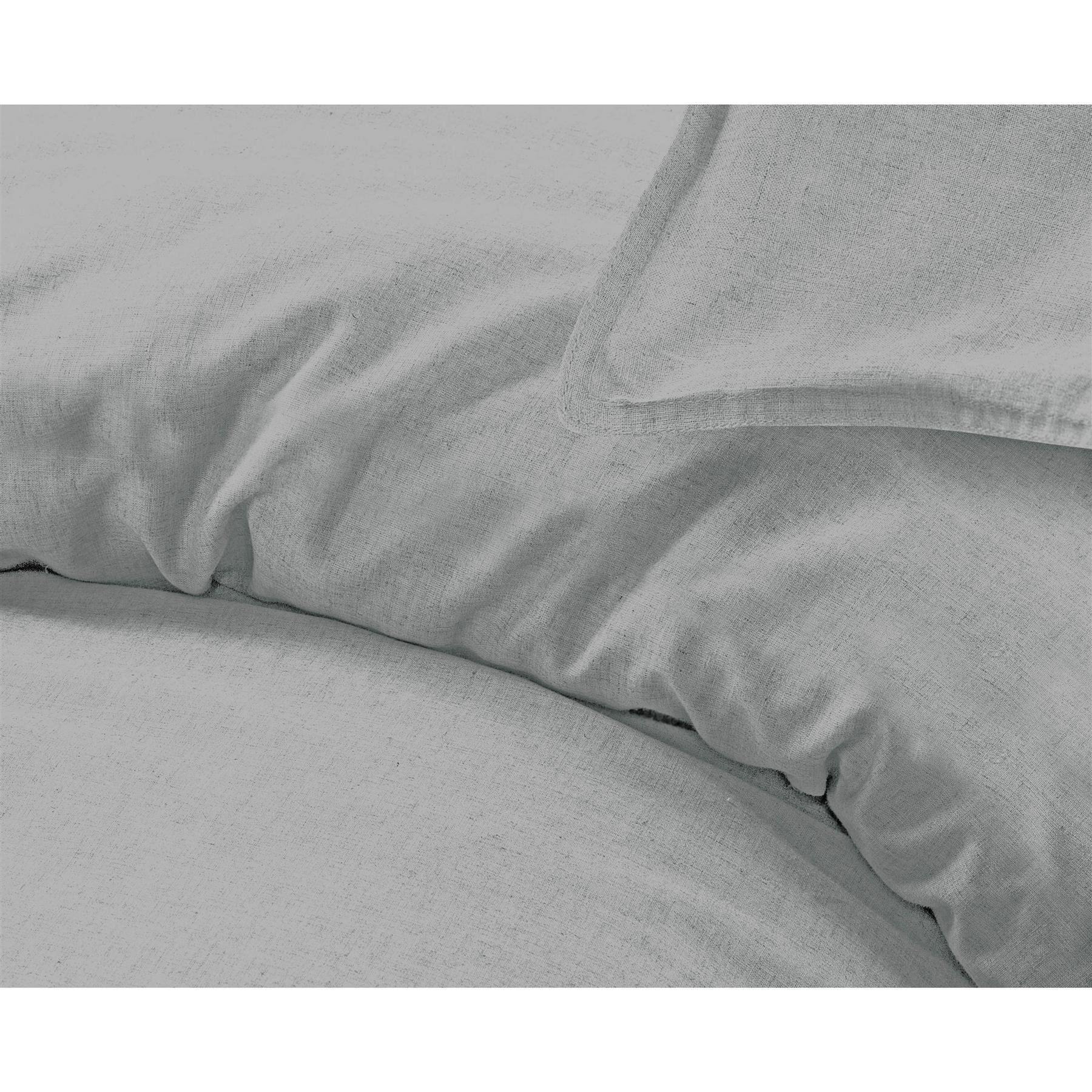 Nimsay-Home-De-Lujo-100-Algodon-Lino-Cubierta-del-edredon-edredon-natural-del-lecho-del miniatura 20