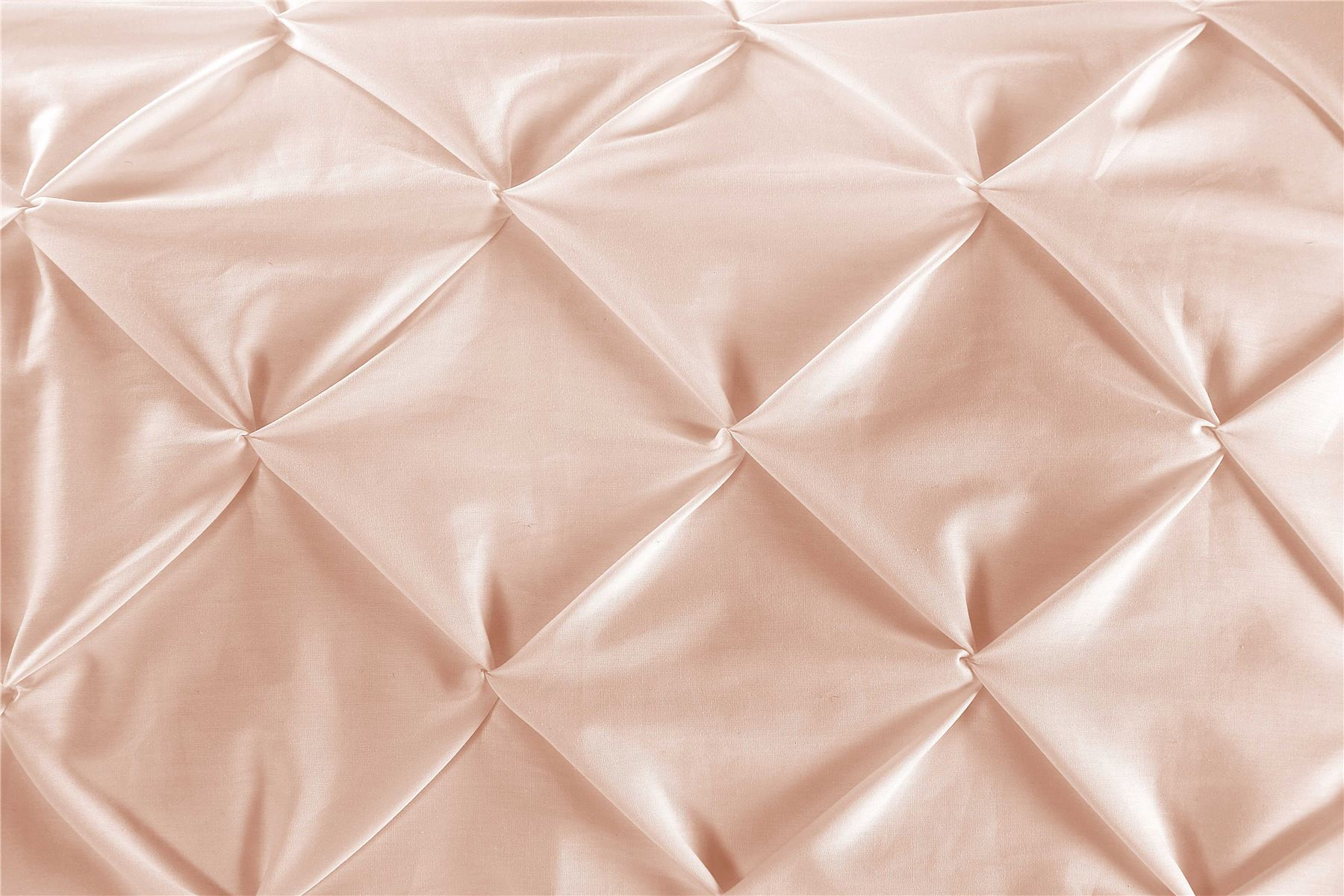 Luxury-Pure-100-Cotton-200-Thread-Pinch-Pleat-Pintuck-Puckering-Duvet-Cover-Set thumbnail 6