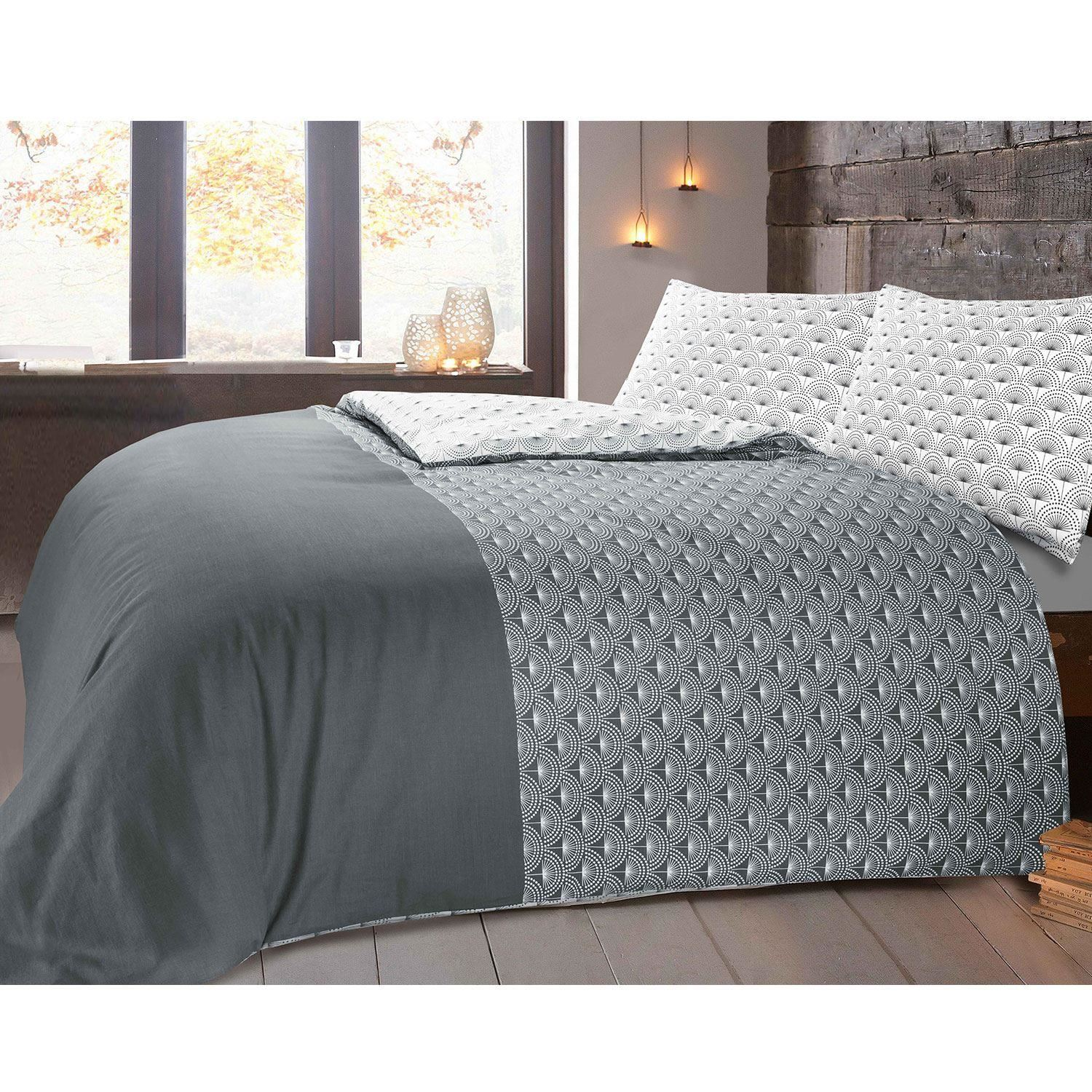 Nimsay-100-Cotton-Duvet-Quilt-Cover-Bedding-Set-Single-Double-Super-King-Sizes thumbnail 9
