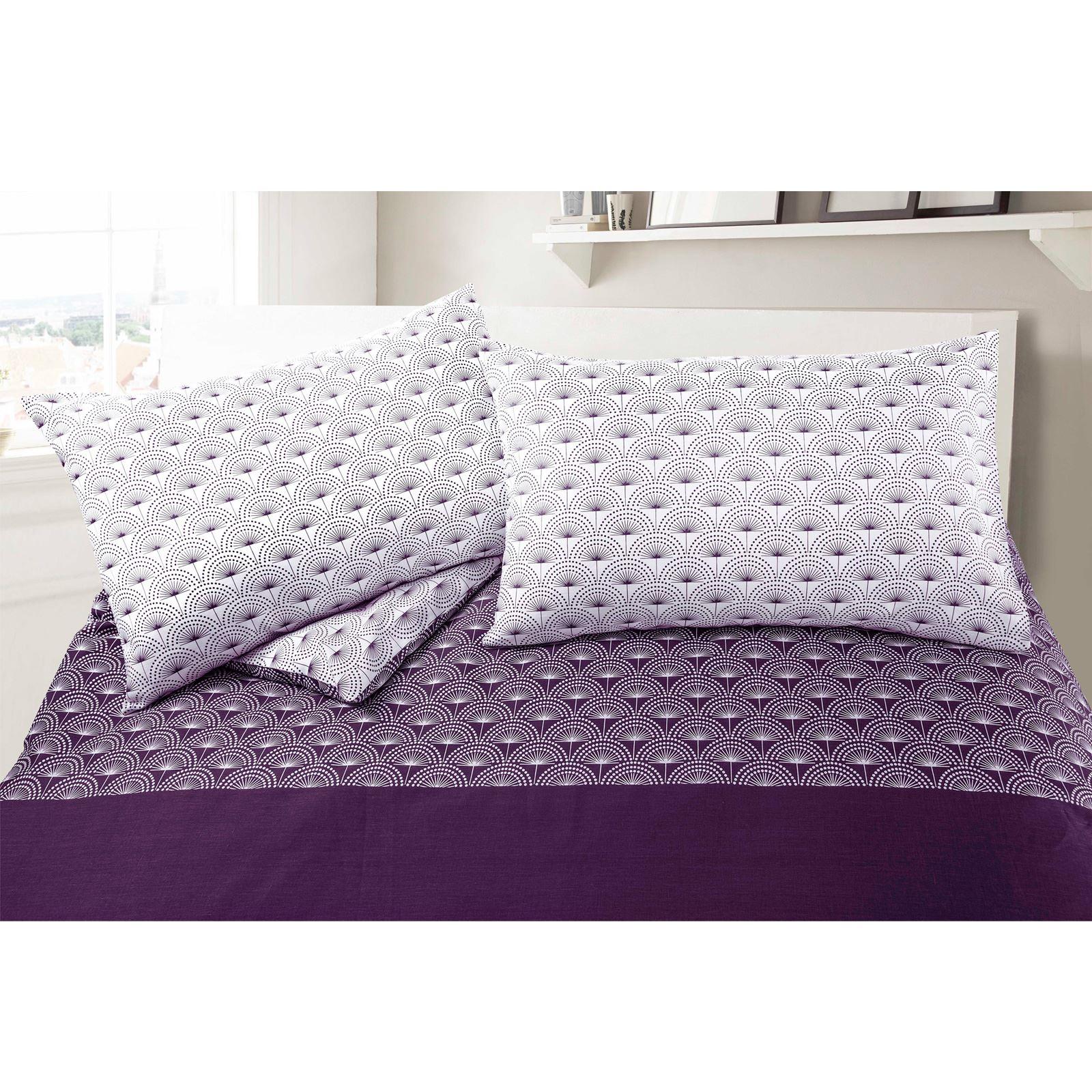 Paloma-Floral-Diente-de-leon-Wallpaper-100-algodon-acolchado-funda-nordica-conjunto-de-ropa-de-cama miniatura 9