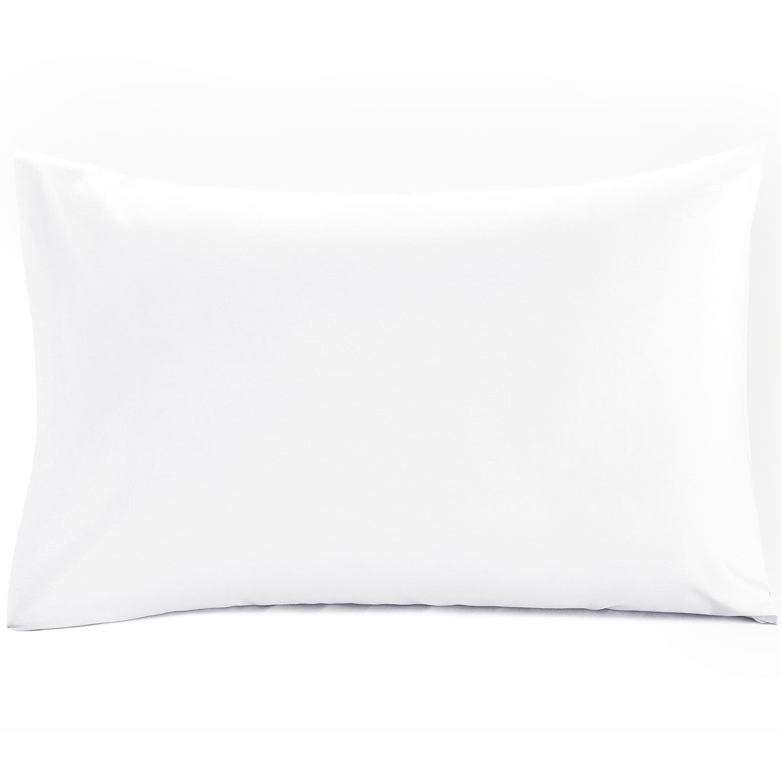 Luxury-100-Egyptian-Cotton-200-Thread-Percale-Plain-Pillowcases-Pillow-Case-Pair thumbnail 31