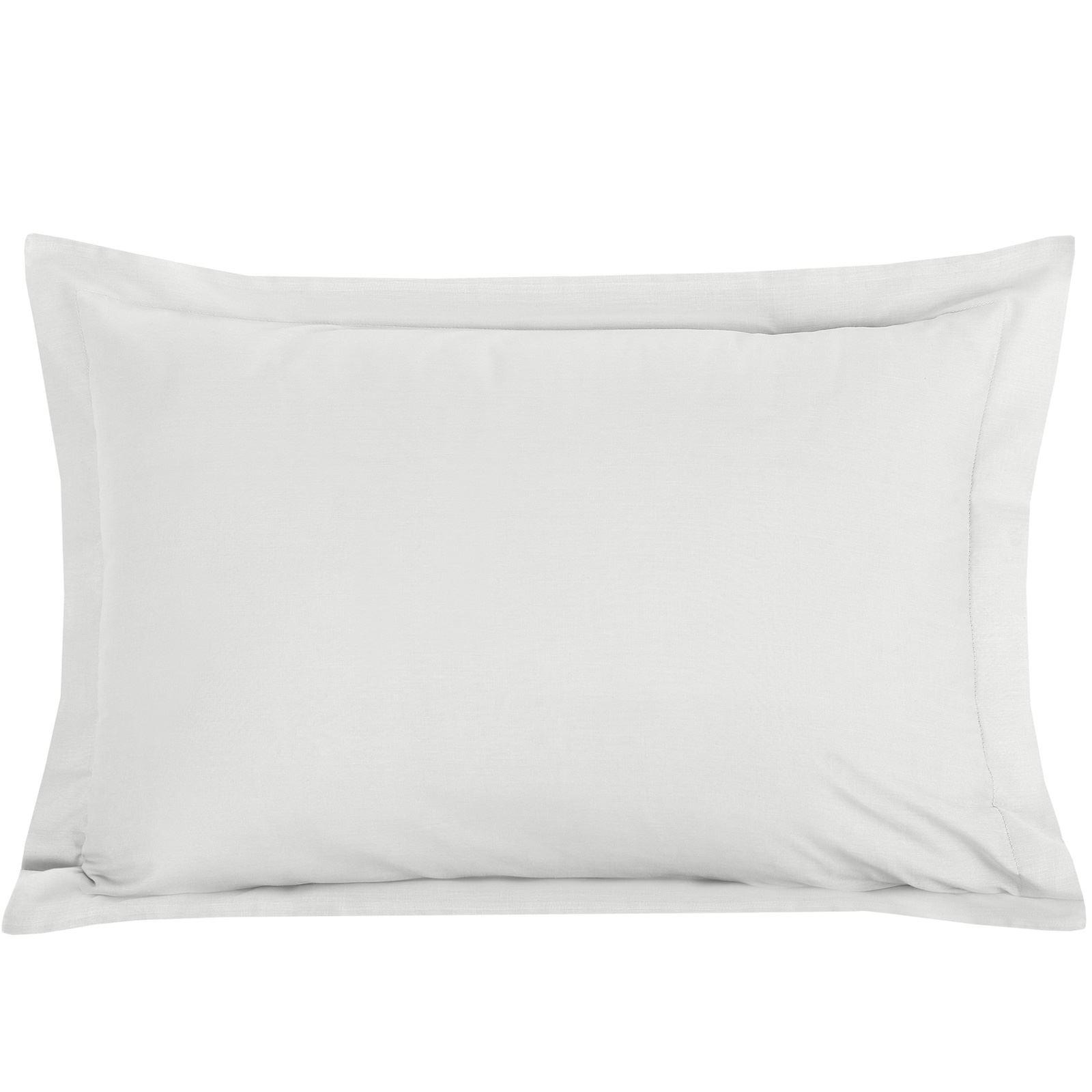 Luxury-100-Egyptian-Cotton-200-Thread-Percale-Plain-Pillowcases-Pillow-Case-Pair thumbnail 23