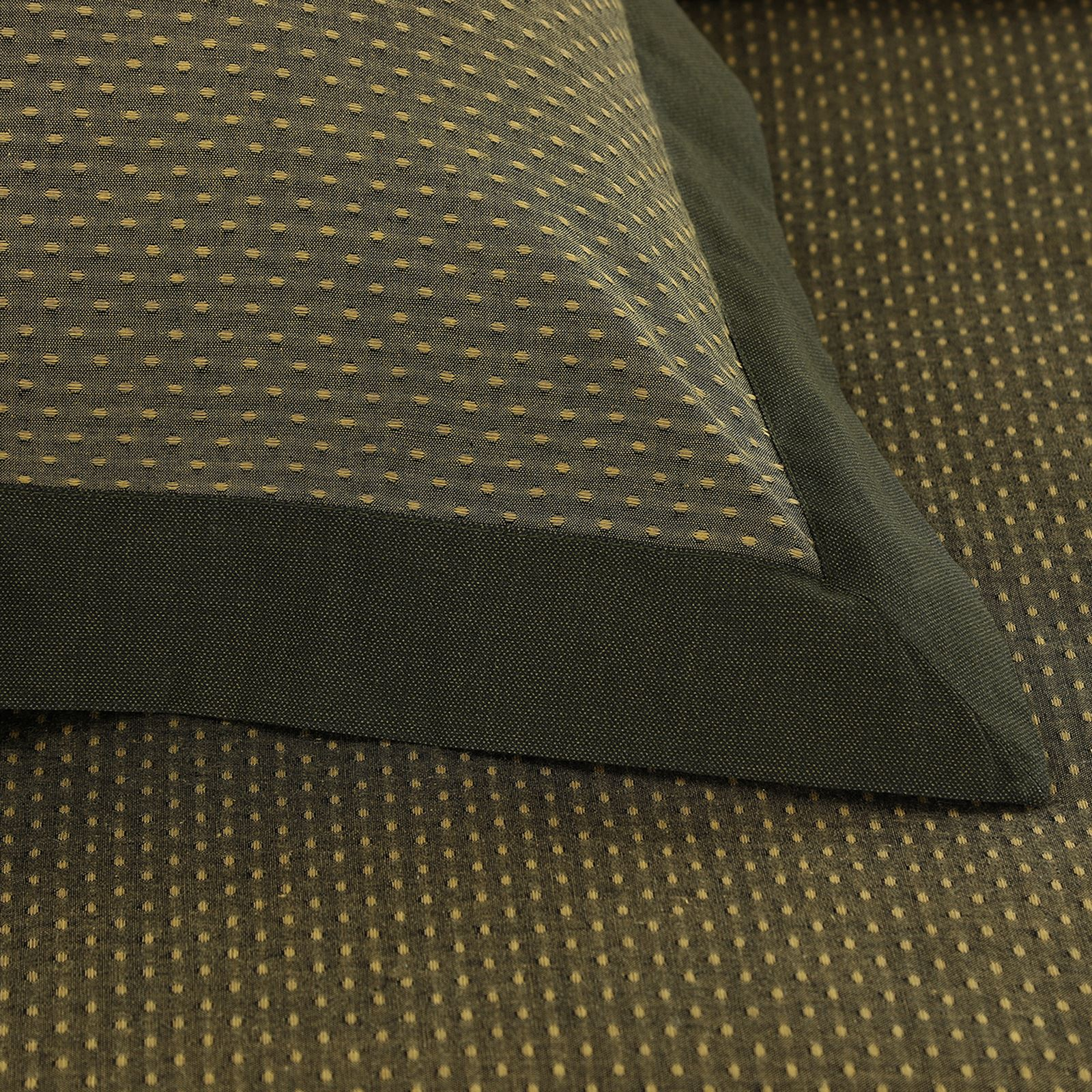 Luxury-Dobby-Dots-Dotted-100-Cotton-Duvet-Cover-Bedding-Set-Single-Double-King thumbnail 8