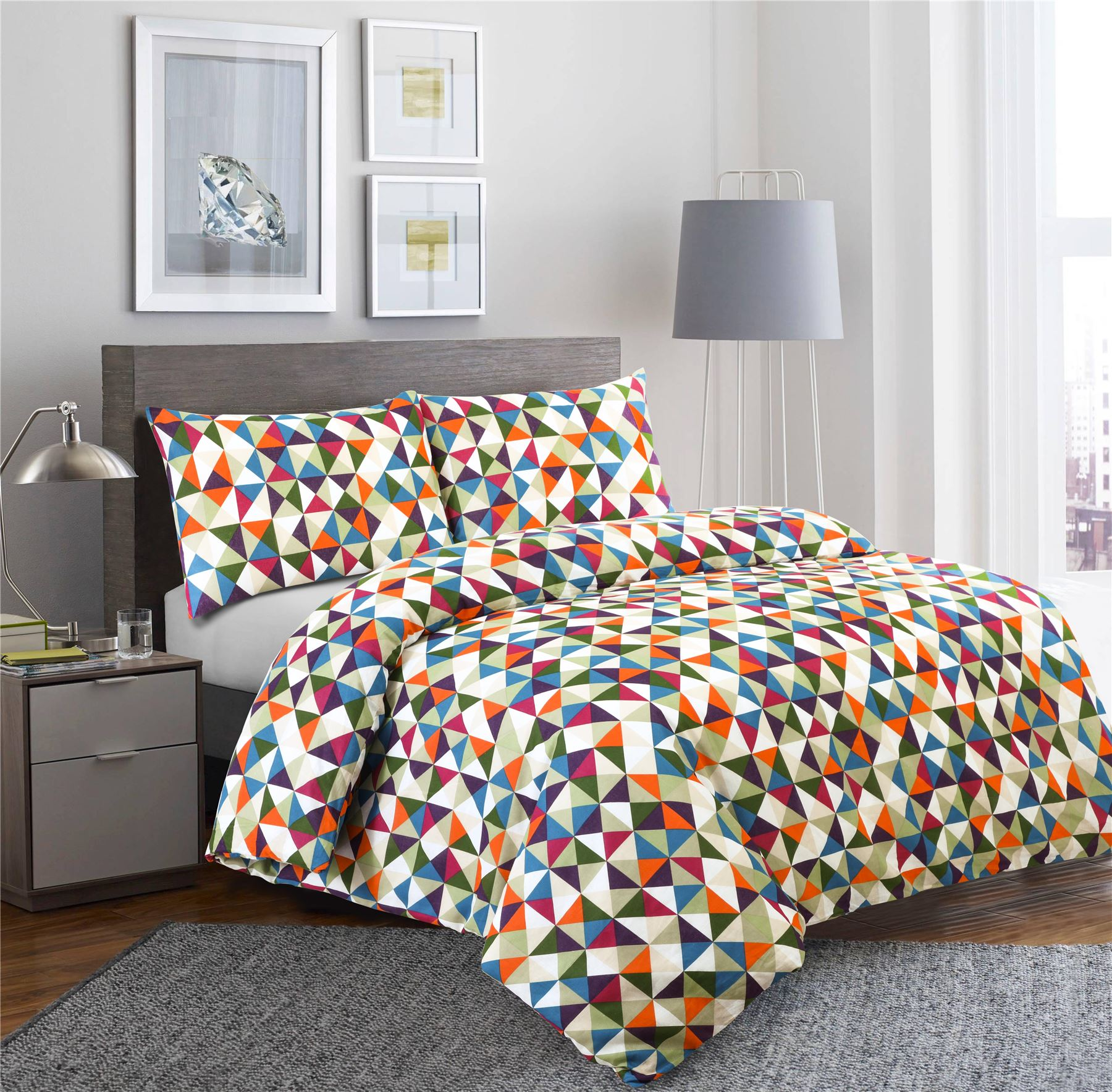 Nimsay-100-Cotton-Duvet-Quilt-Cover-Bedding-Set-Single-Double-Super-King-Sizes thumbnail 7