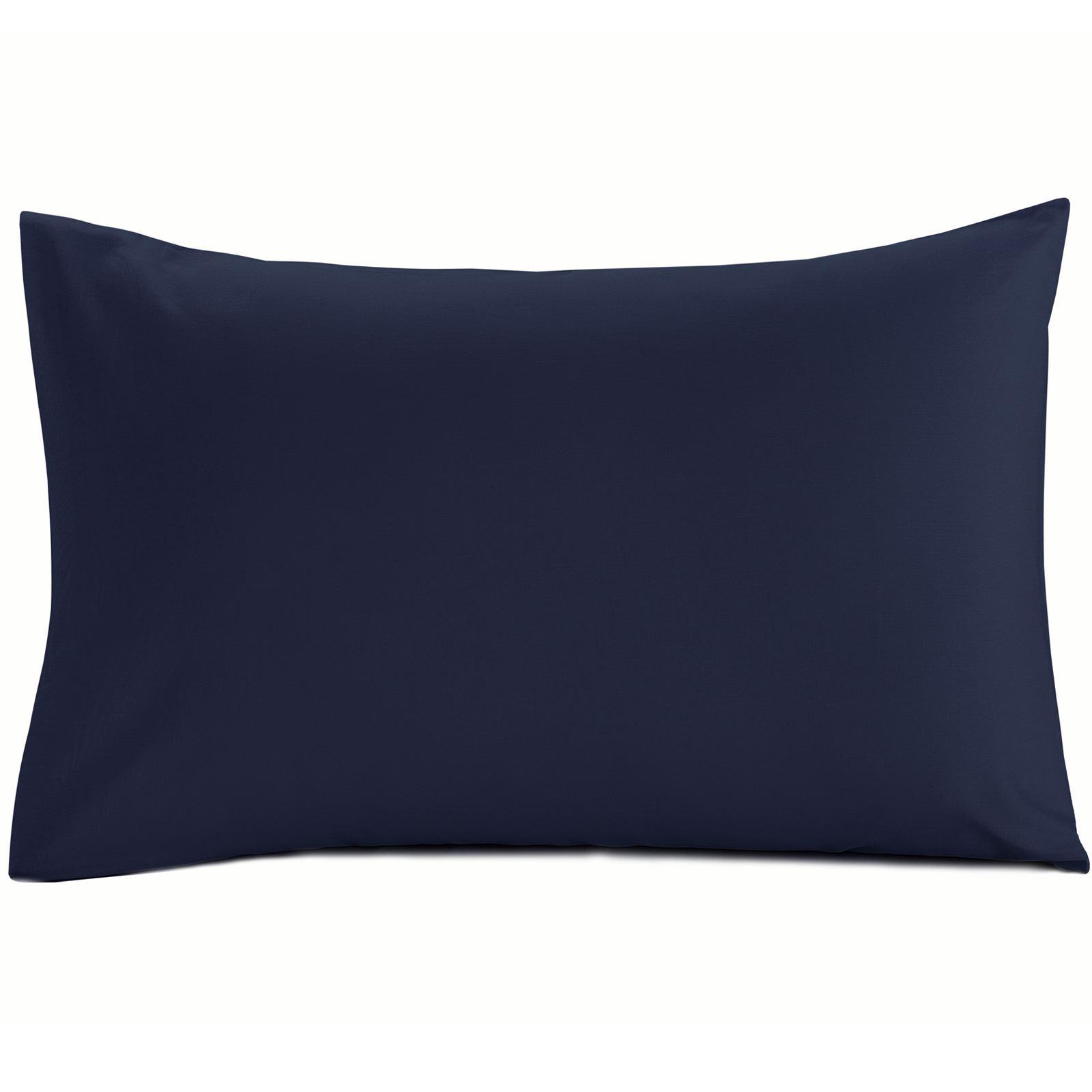 Luxury-100-Egyptian-Cotton-200-Thread-Percale-Plain-Pillowcases-Pillow-Case-Pair thumbnail 13