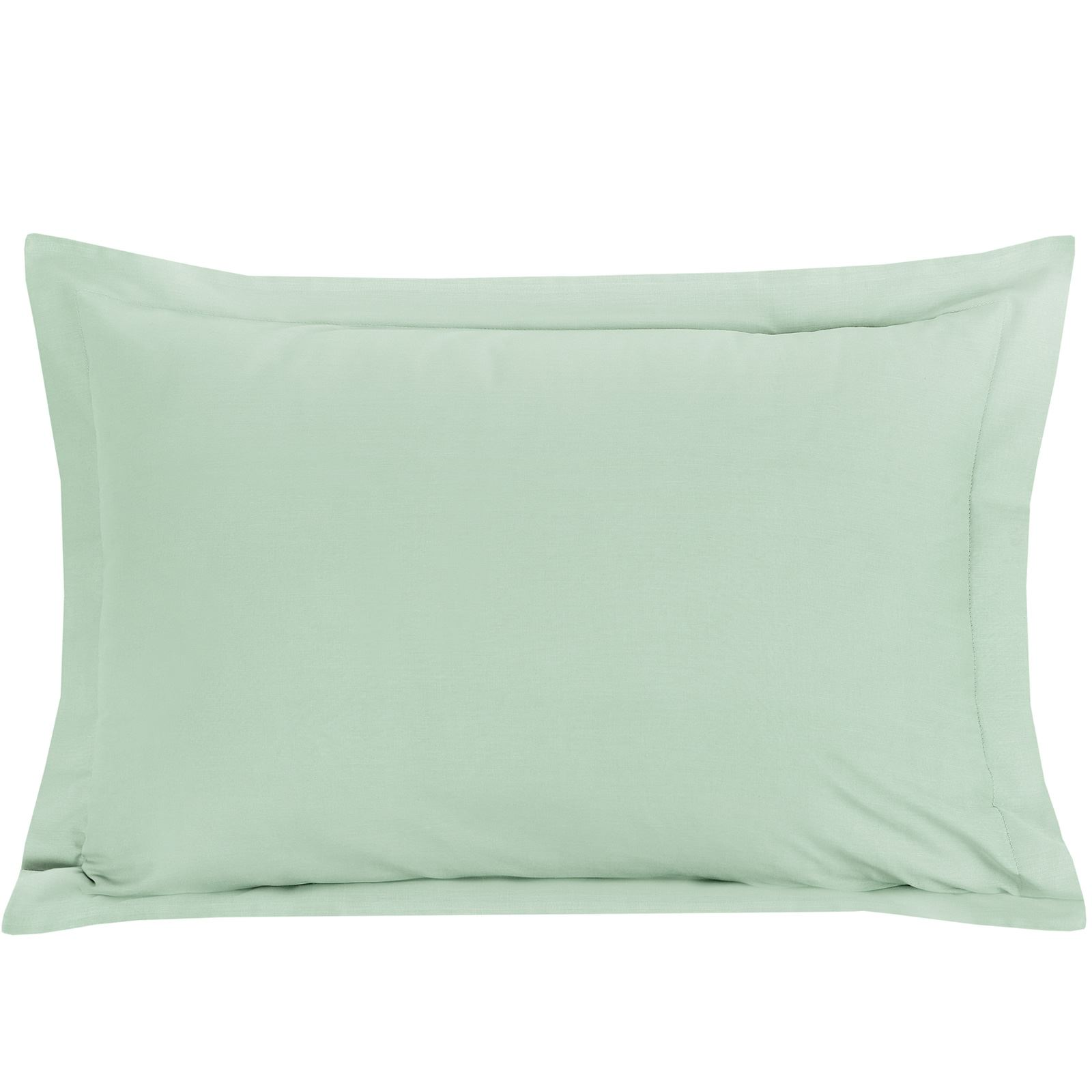 Luxury-100-Egyptian-Cotton-200-Thread-Percale-Plain-Pillowcases-Pillow-Case-Pair thumbnail 9