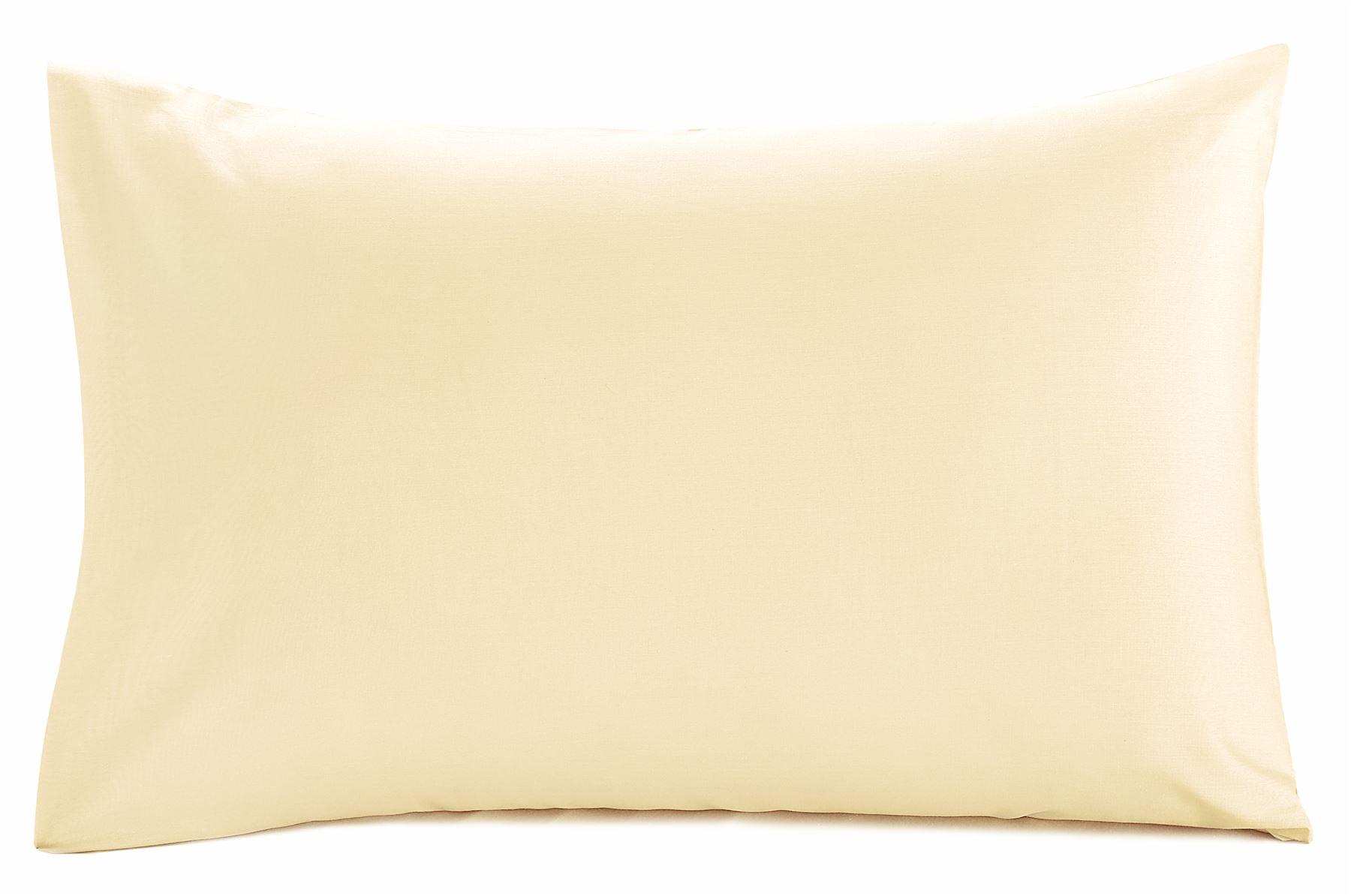 Uni-Plat-Haut-feuille-ou-Taies-d-039-Oreiller-Simple-Double-Super-King-Lit-Toutes-Tailles miniature 9