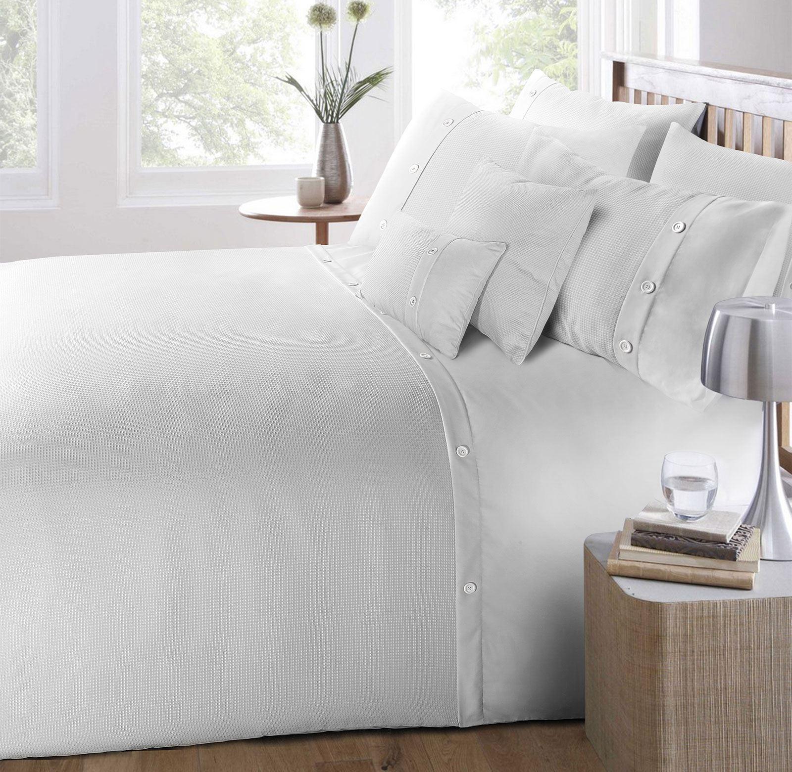 100-Algodon-Cuidado-facil-cubierta-del-edredon-edredon-multicolor-nuevo-conjunto-de-ropa-de-cama miniatura 22