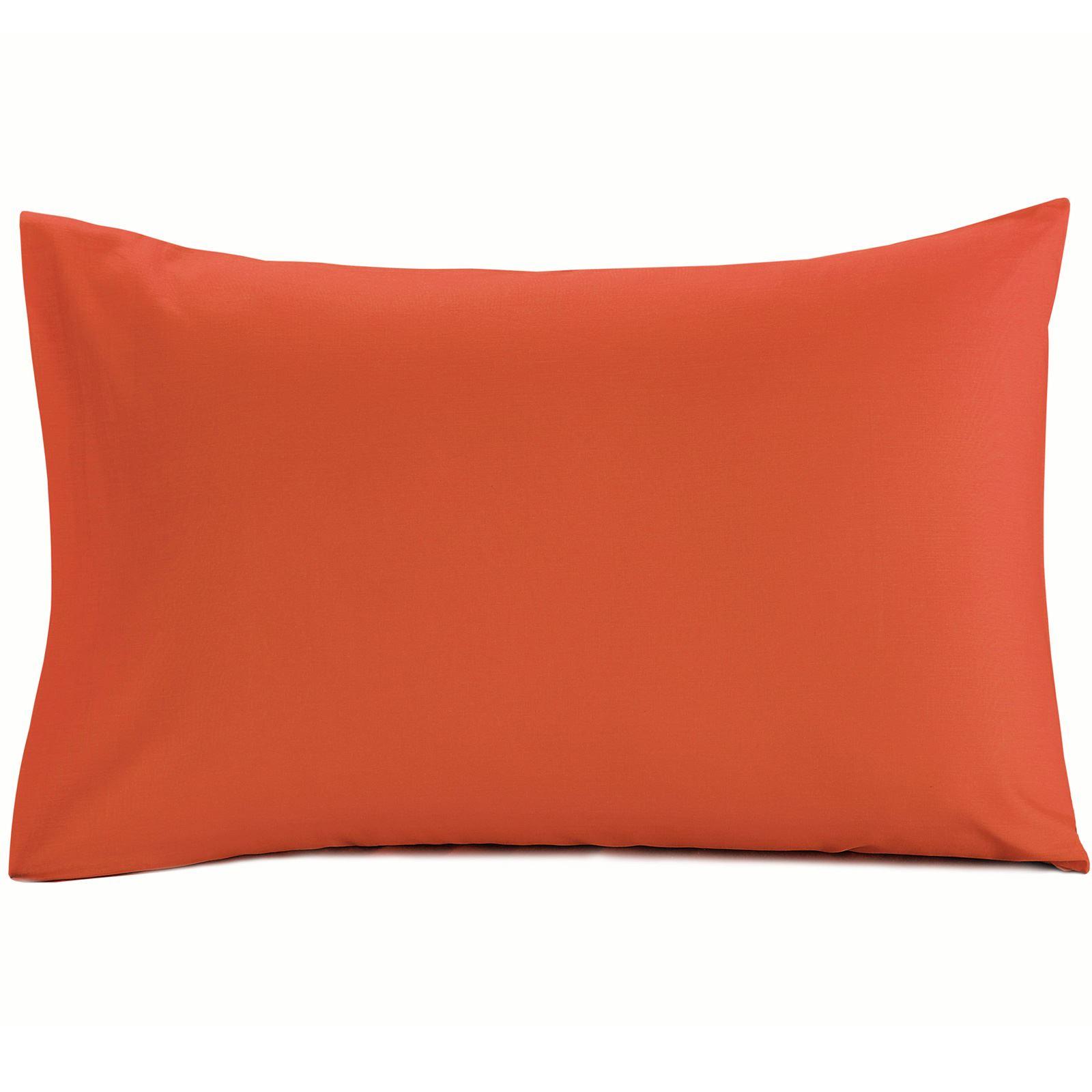 Luxury-100-Egyptian-Cotton-200-Thread-Percale-Plain-Pillowcases-Pillow-Case-Pair thumbnail 15
