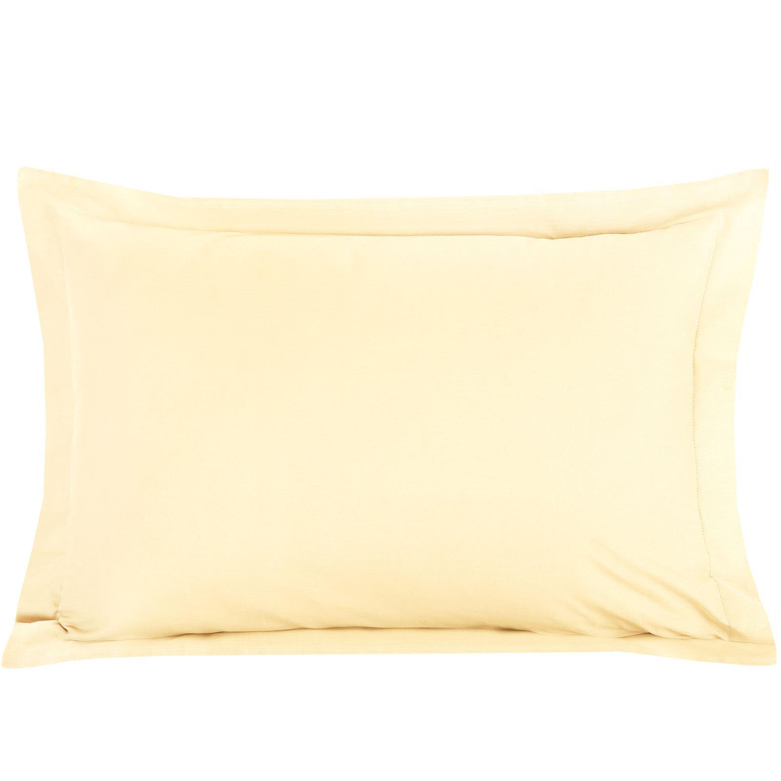 Luxury-100-Egyptian-Cotton-200-Thread-Percale-Plain-Pillowcases-Pillow-Case-Pair thumbnail 7
