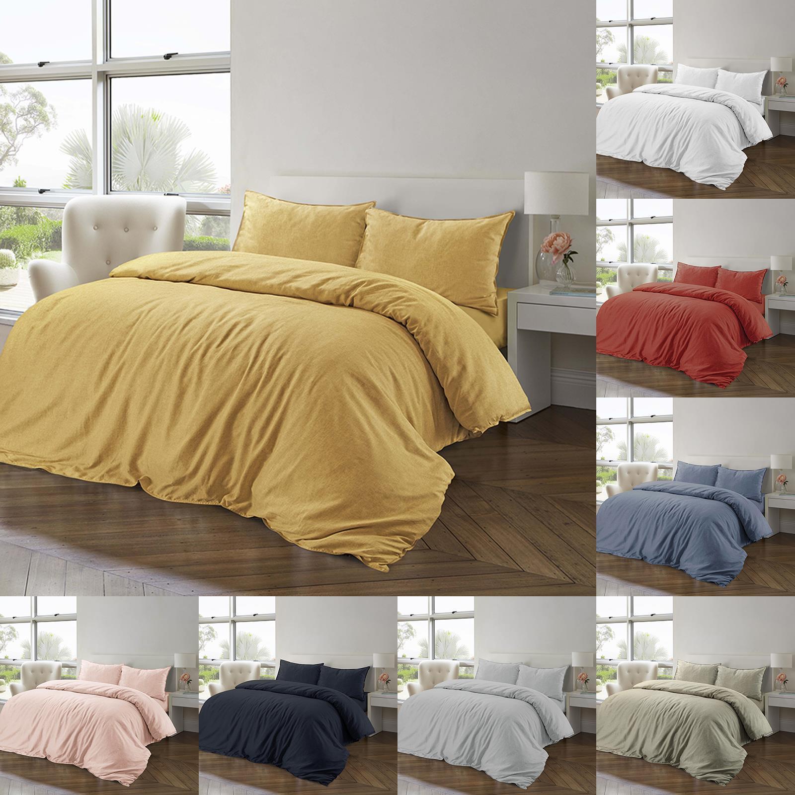 Bedding Sets Duvet Covers Duvet Cover With Pillow Case Natural Quilt Cover Bedding Set Single Double King Home Furniture Diy Tohoku Morinagamilk Co Jp