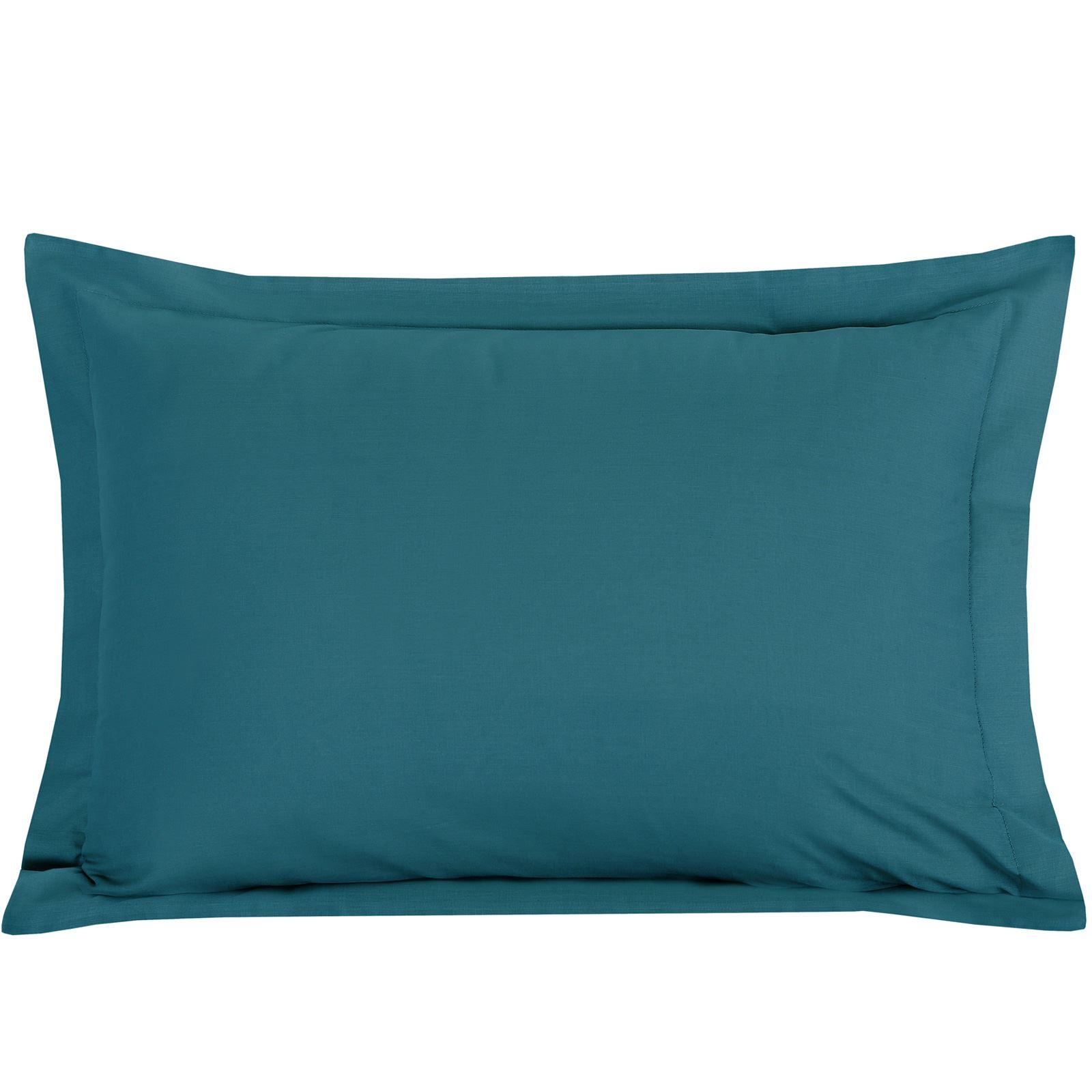 Luxury-100-Egyptian-Cotton-200-Thread-Percale-Plain-Pillowcases-Pillow-Case-Pair thumbnail 29