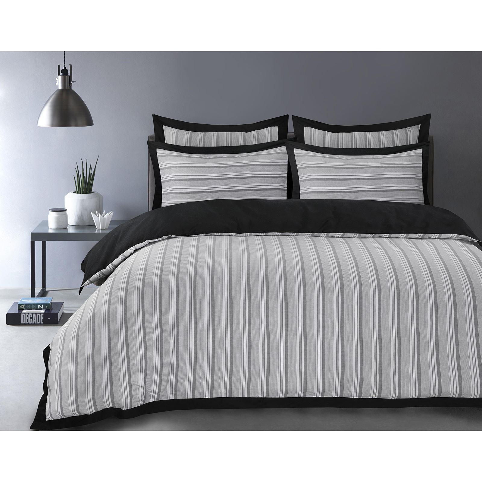 100-Algodon-Cuidado-facil-cubierta-del-edredon-edredon-multicolor-nuevo-conjunto-de-ropa-de-cama miniatura 4