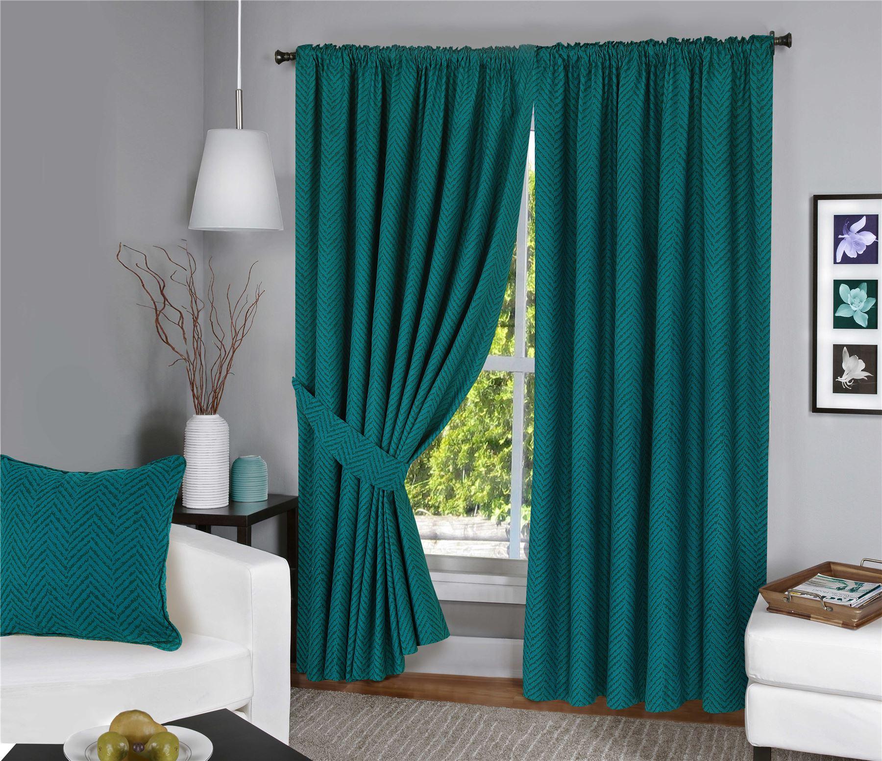 HDN Menaal 100 Cotton Curtains Plum 66x90