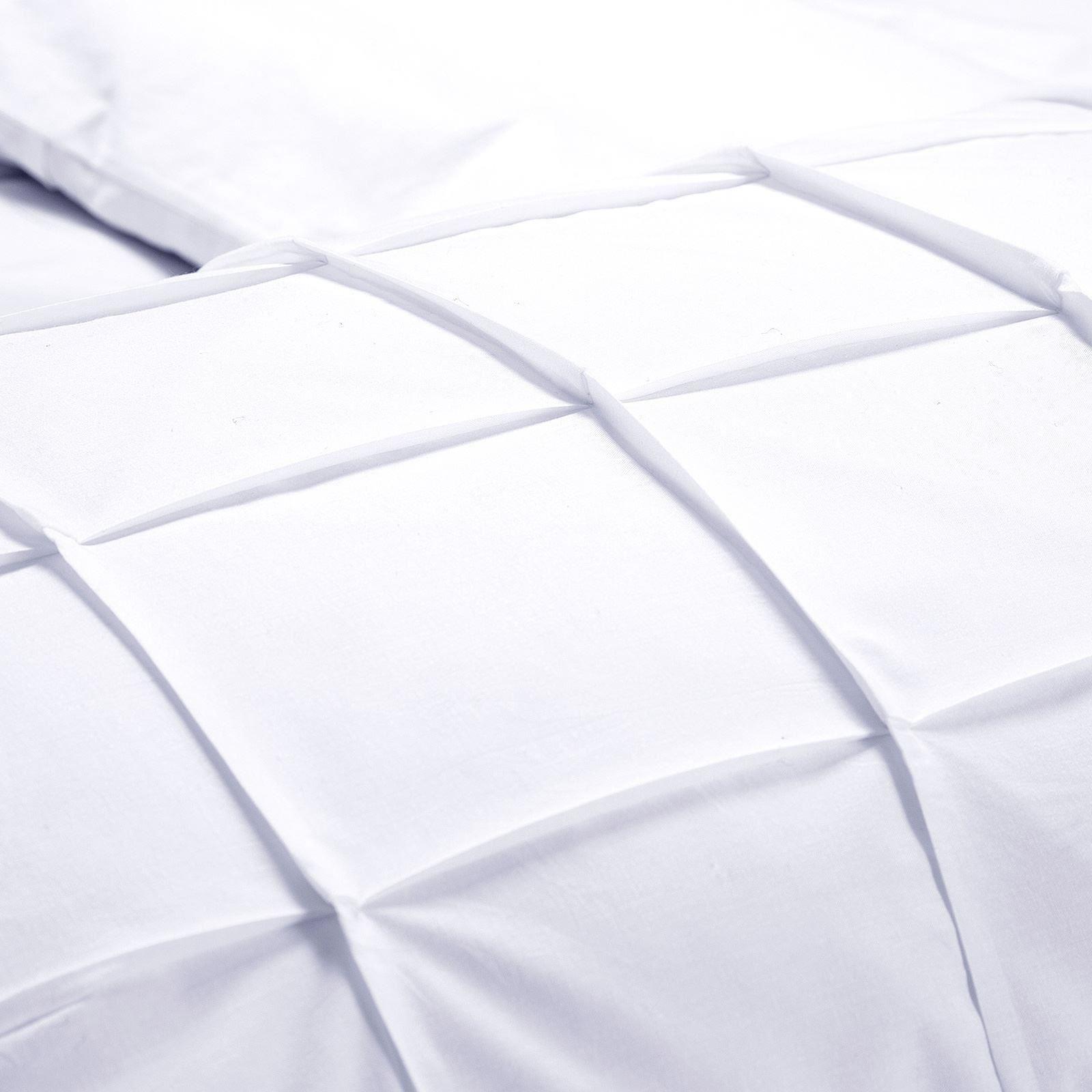 100-Coton-Egyptien-de-couette-couette-Set-Simple-Double-King-Size-Bed-sheets miniature 13