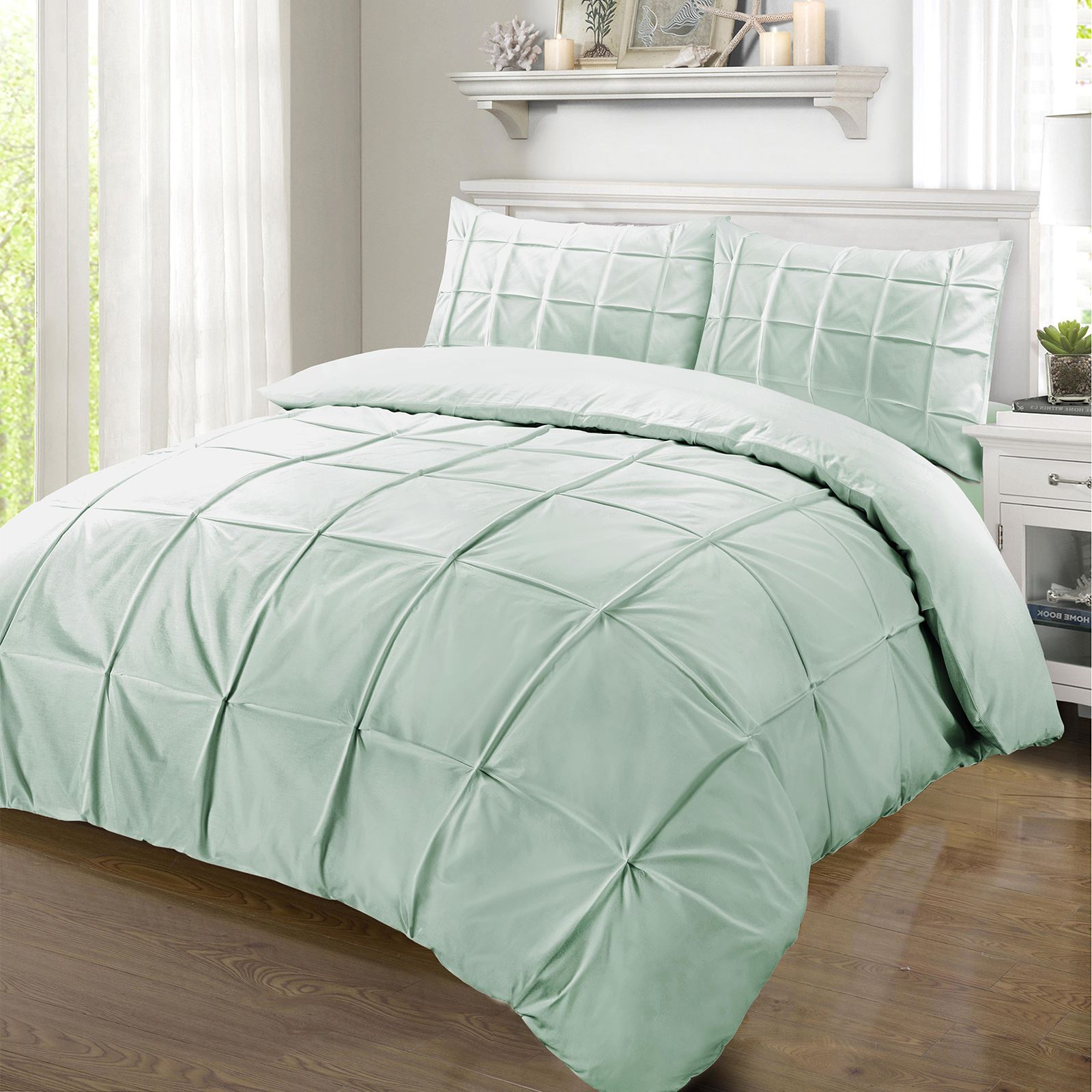 duvet isabella piece embroidered belvia products cover white bedding ella pleated design set home isadora isla chic