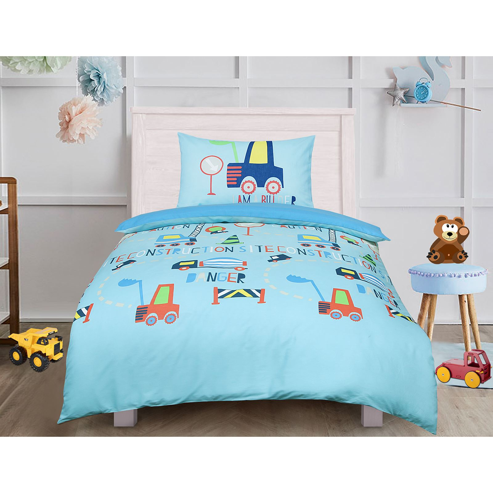 Children-Teenage-Kids-Boys-Girls-Single-Quilt-Duvet-Cover-Pillowcase-Bedding-Set thumbnail 12