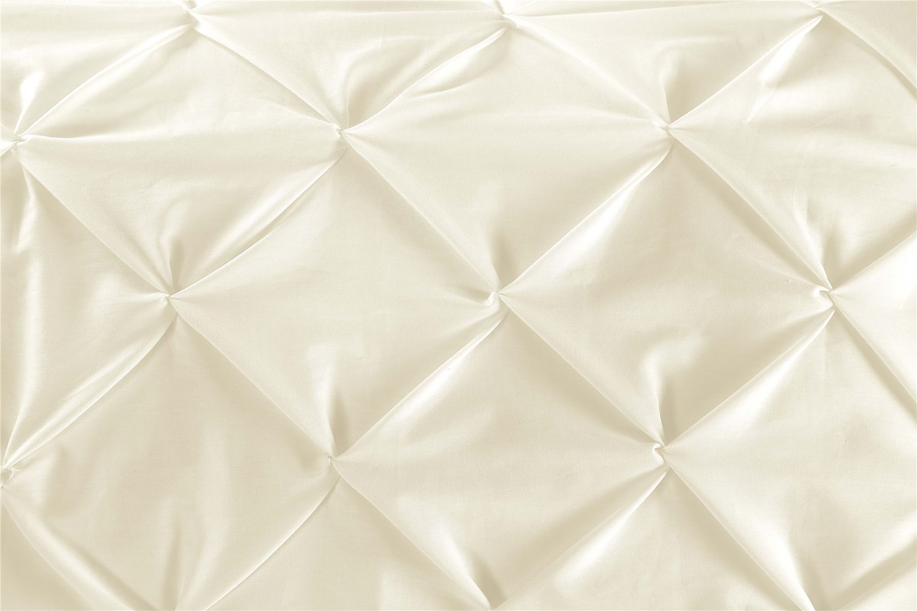 Luxury-Pure-100-Cotton-200-Thread-Pinch-Pleat-Pintuck-Puckering-Duvet-Cover-Set thumbnail 11
