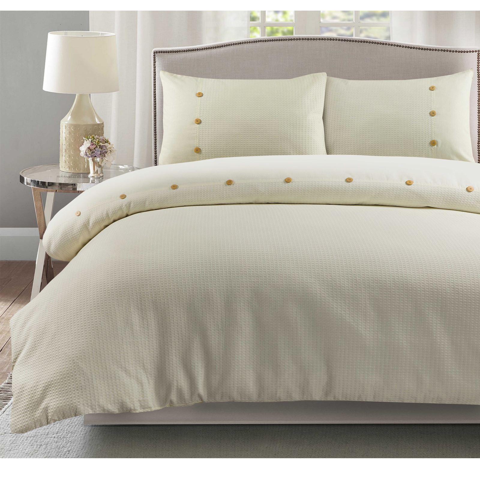 100-Algodon-Cuidado-facil-cubierta-del-edredon-edredon-multicolor-nuevo-conjunto-de-ropa-de-cama miniatura 18