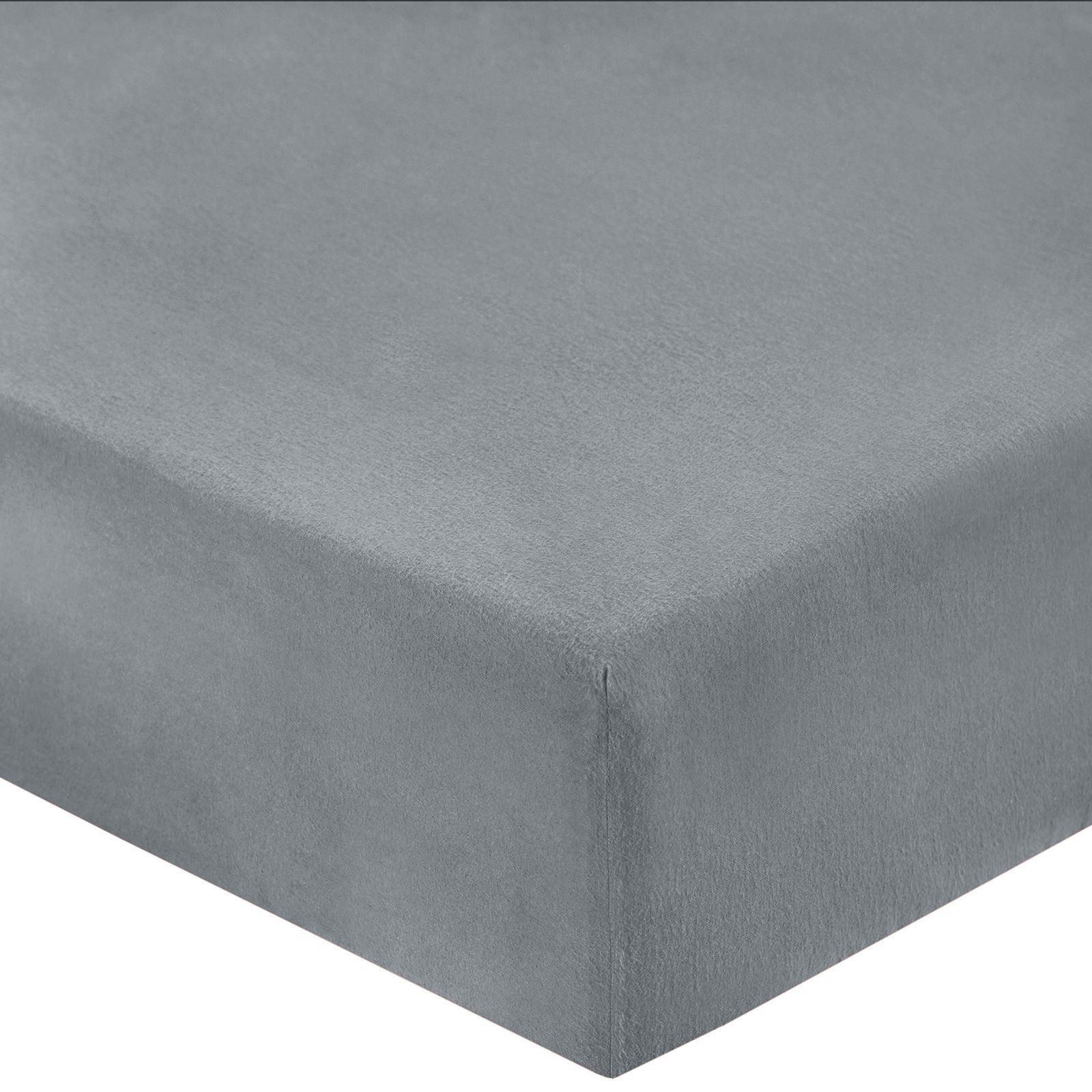 Melange-Gris-Tejido-Tartan-Cuadros-Franela-de-algodon-cepillado-funda-nordica-flanelita miniatura 11